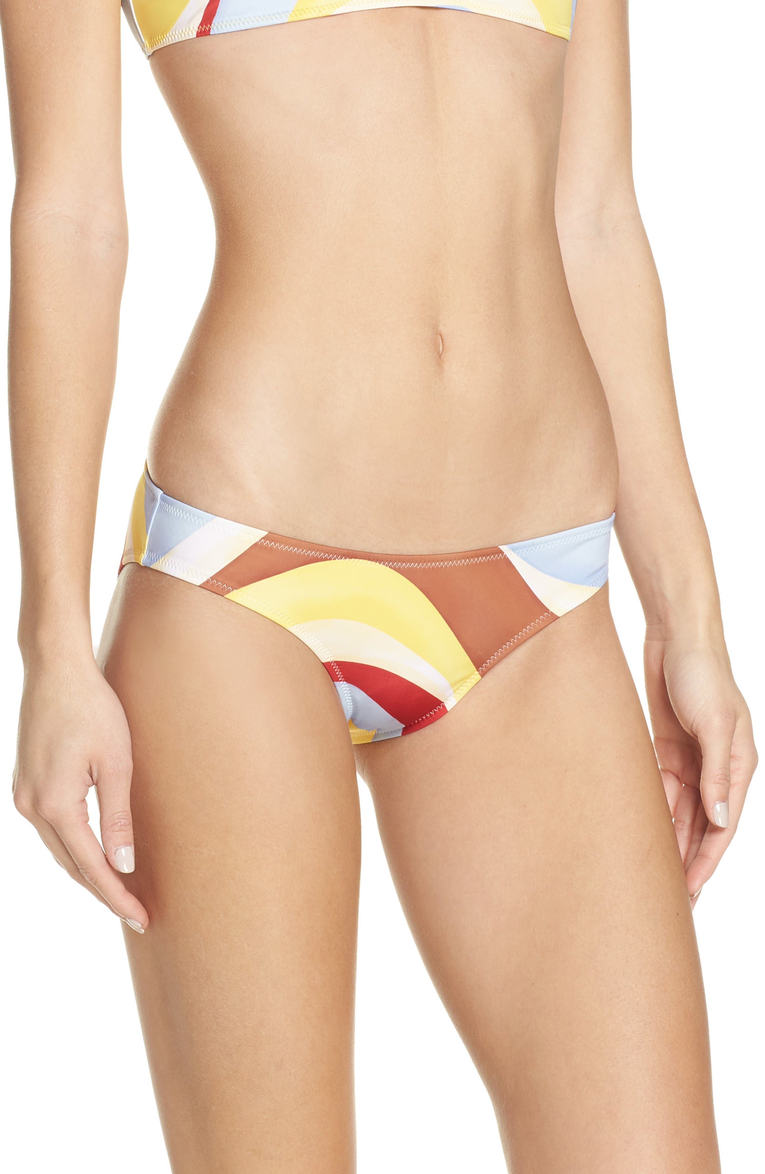 Elle Bikini Bottoms,                             Main thumbnail 1, color,                             408