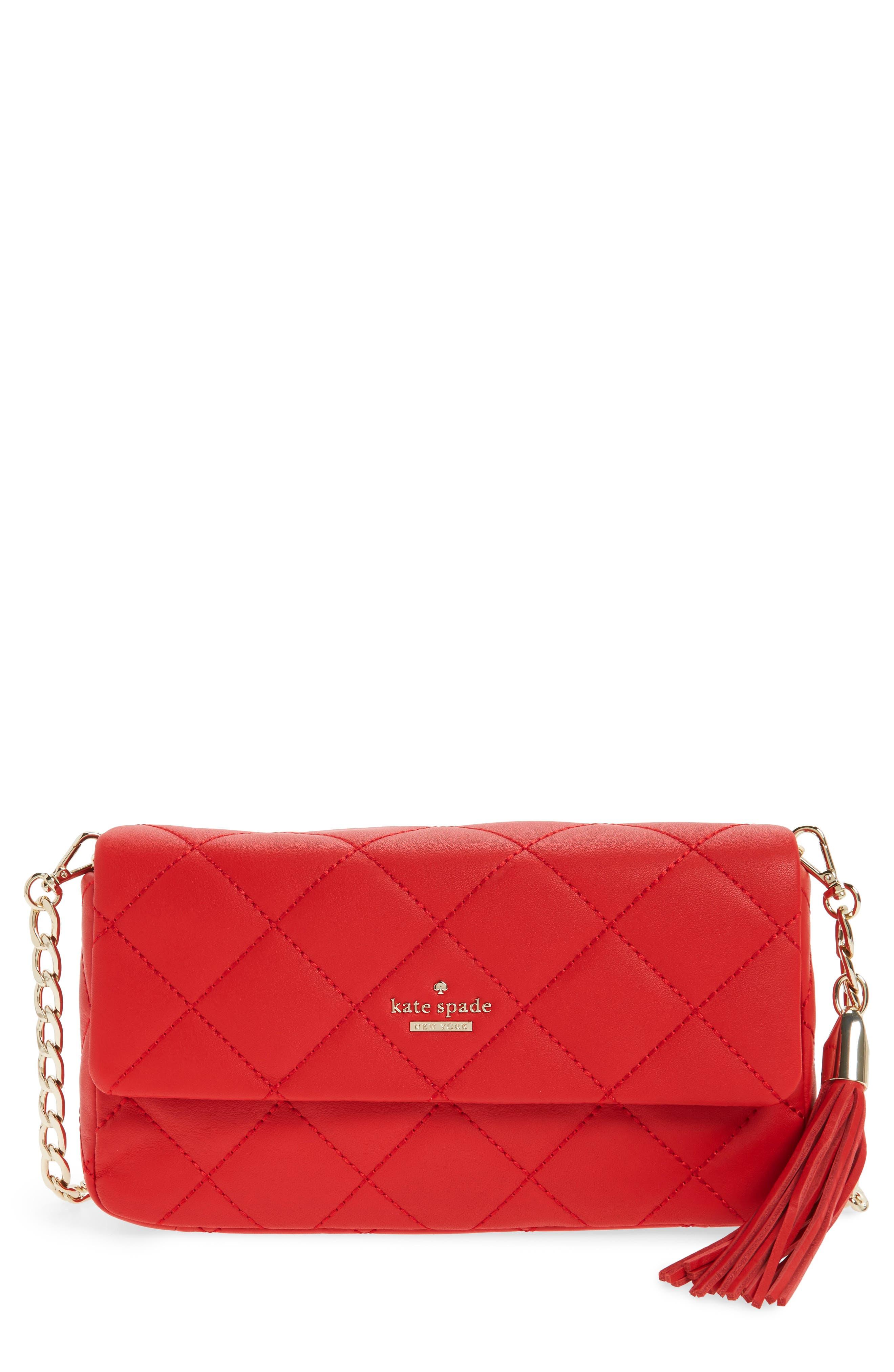 emerson place - serena leather shoulder bag,                             Main thumbnail 3, color,