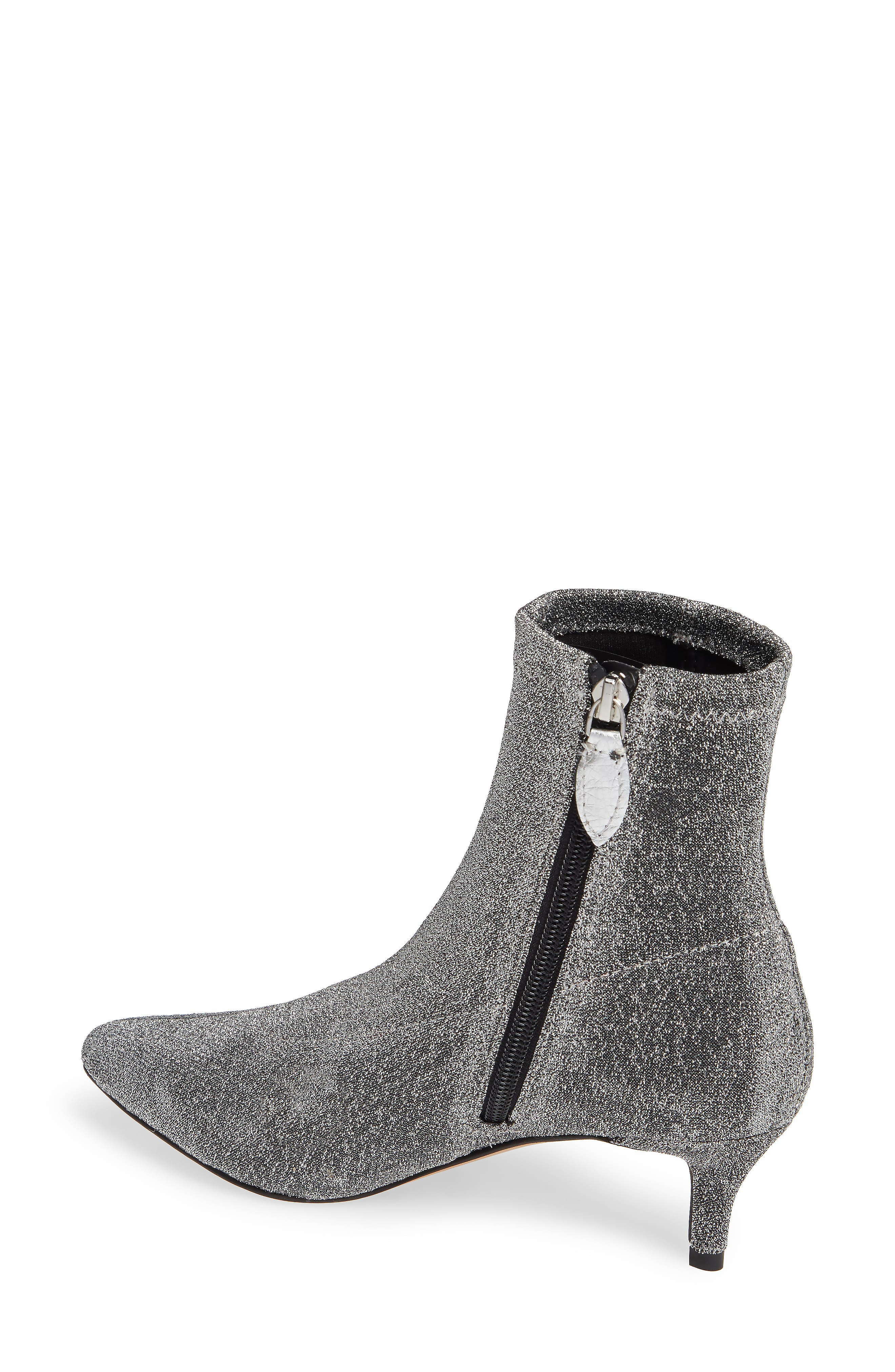 Sayres Bootie,                             Alternate thumbnail 2, color,                             SILVER FABRIC