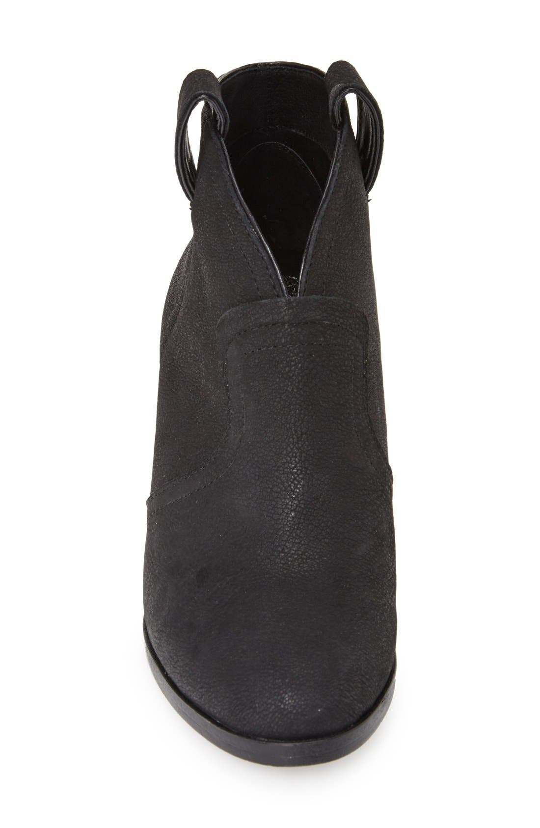'Hillsy' Almond Toe Ankle Bootie,                             Alternate thumbnail 2, color,                             001