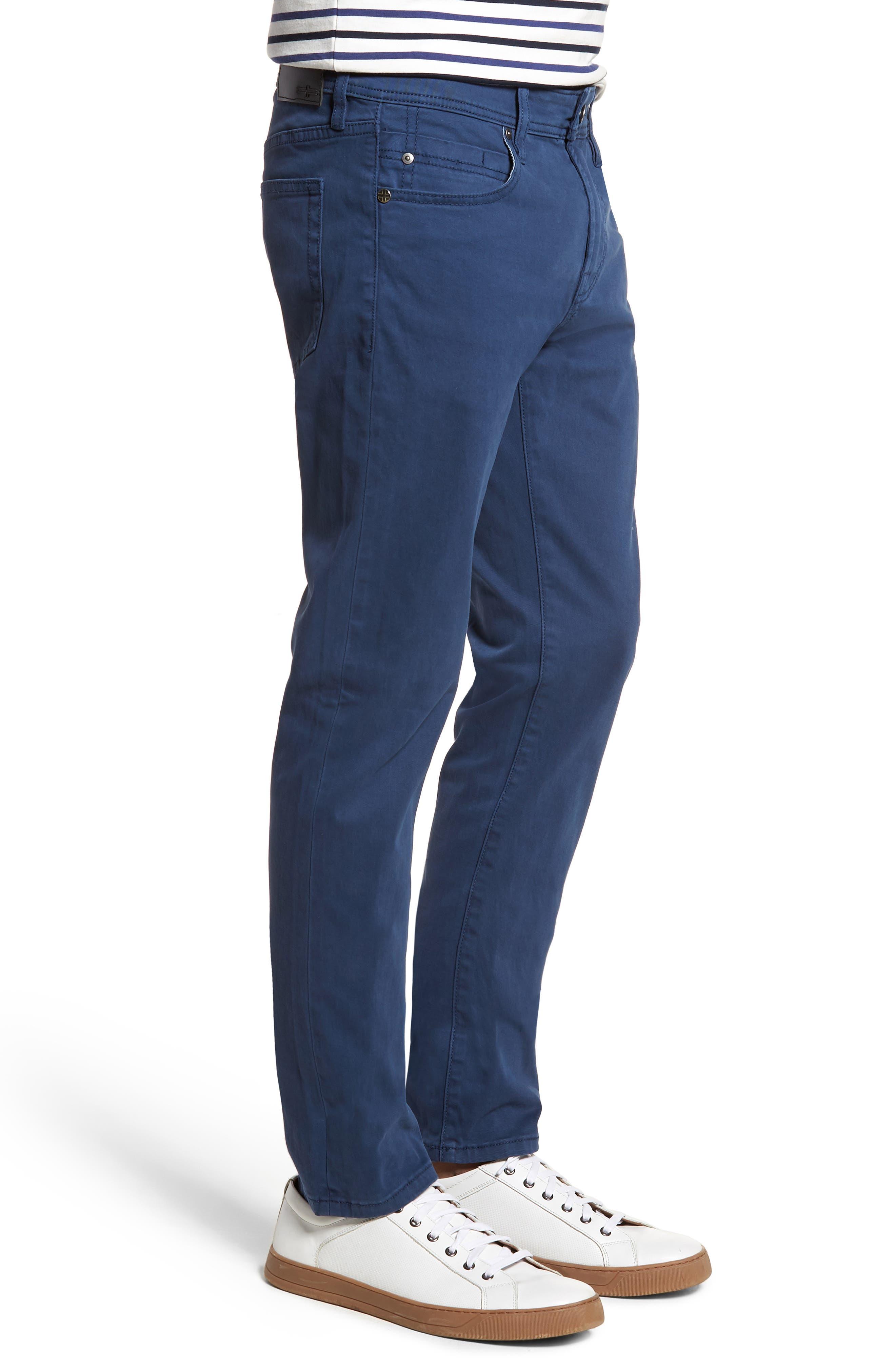 Jeans Co. Kingston Slim Straight Leg Jeans,                             Alternate thumbnail 3, color,                             BLUE TWILIGHT
