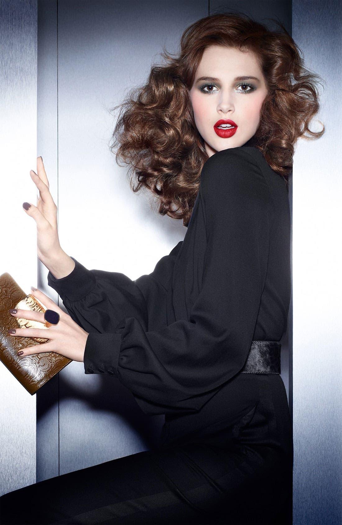 Rouge Pur Couture The Mats Lipstick,                             Alternate thumbnail 3, color,                             212 ALTERNATIVE PLUM