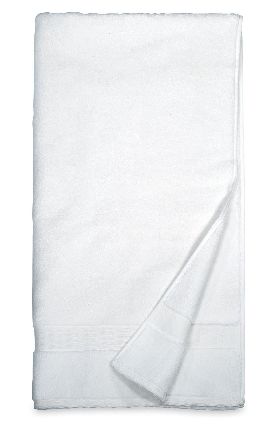 DKNY Mercer Bath Sheet, Main, color, WHITE