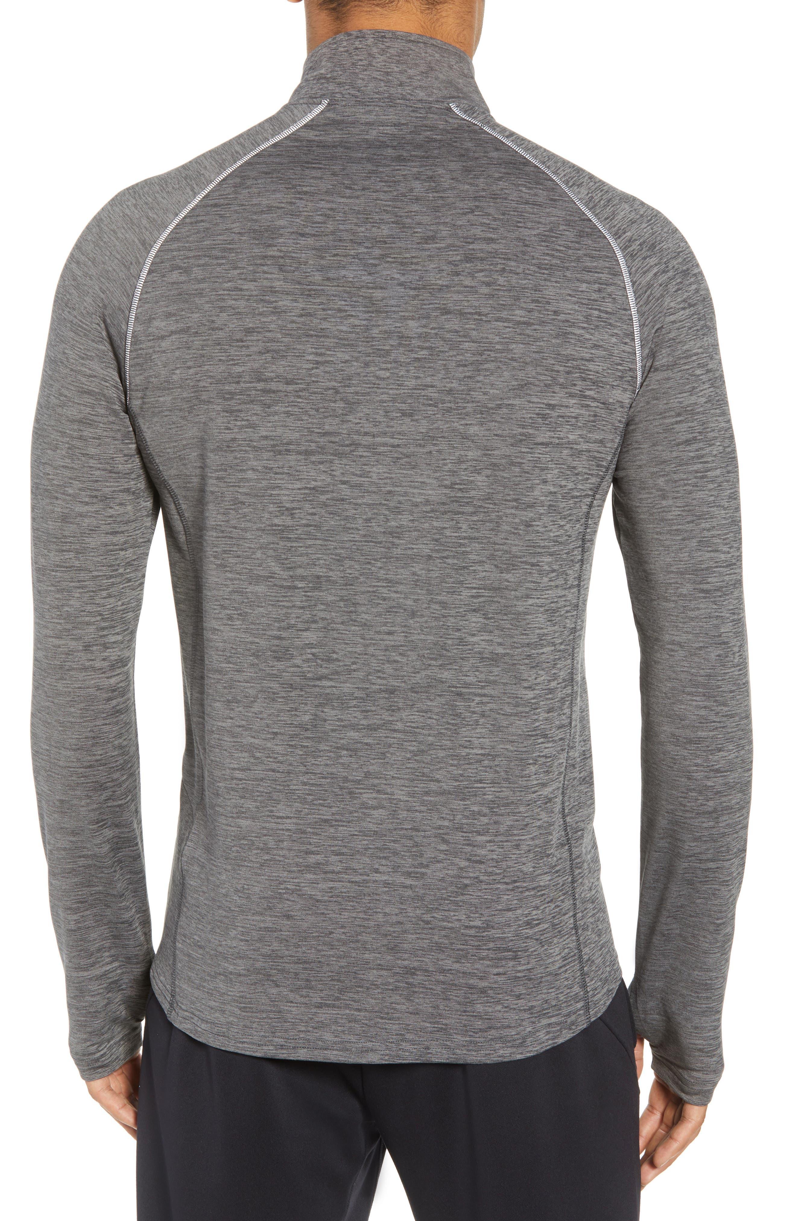 Core Half Zip Sweatshirt,                             Alternate thumbnail 2, color,                             001