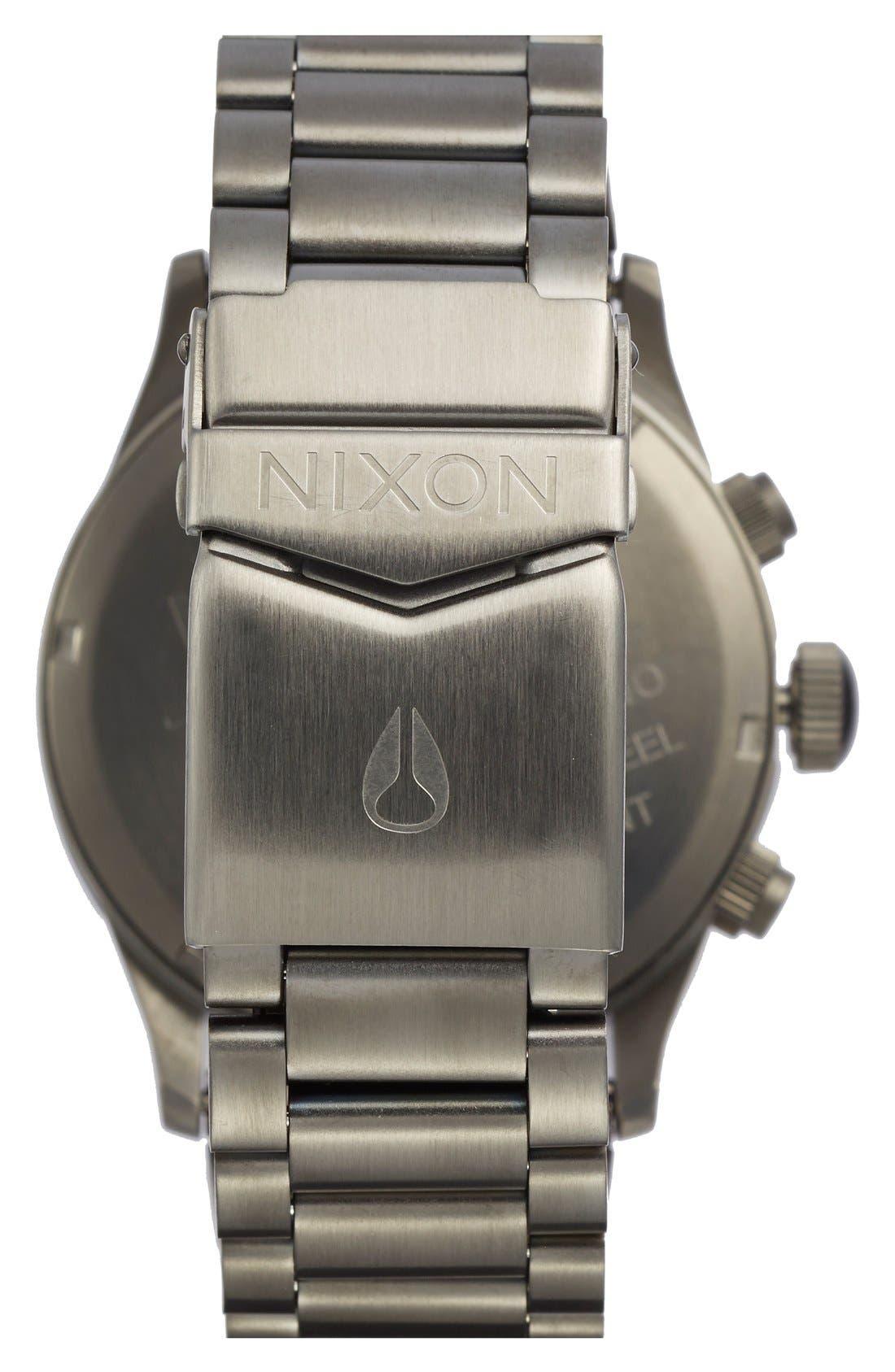 'The Sentry' Chronograph Bracelet Watch, 42mm,                             Alternate thumbnail 28, color,