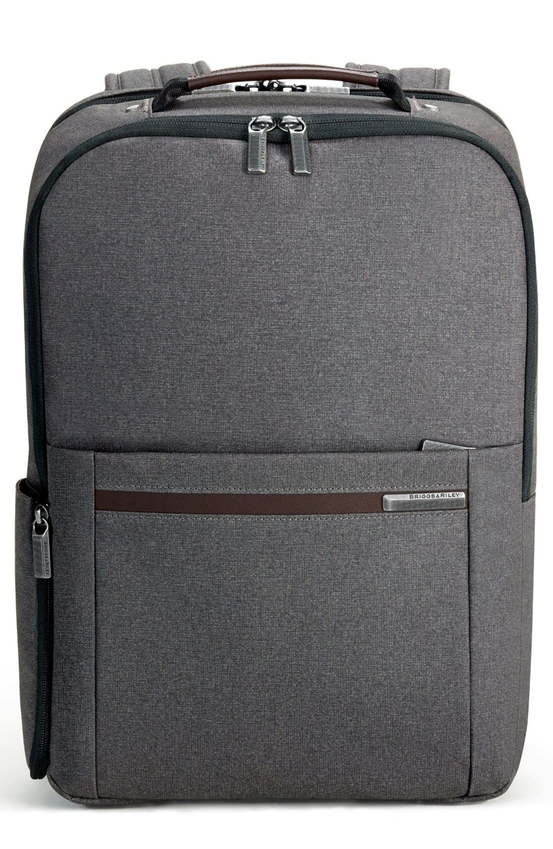 Kinzie Street Medium Backpack,                             Main thumbnail 1, color,                             GREY