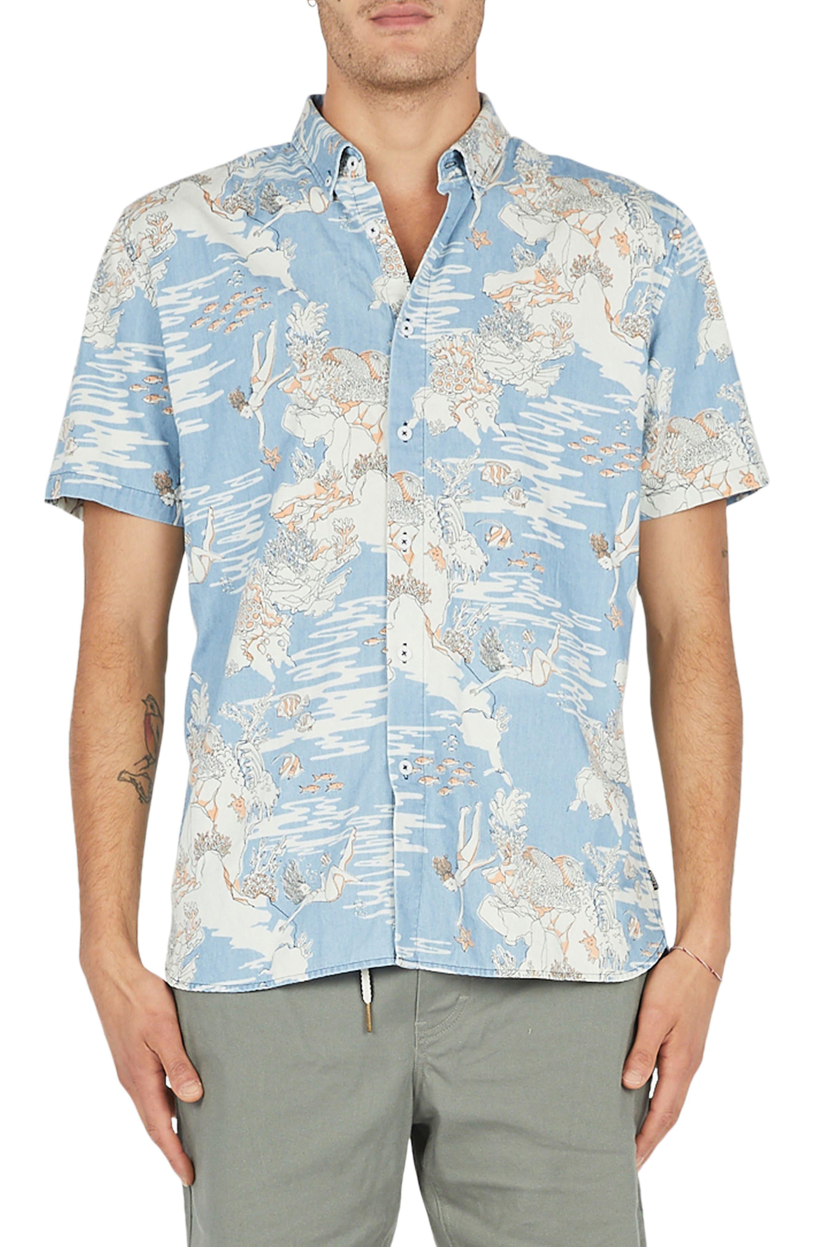 Holiday Woven Shirt,                         Main,                         color,