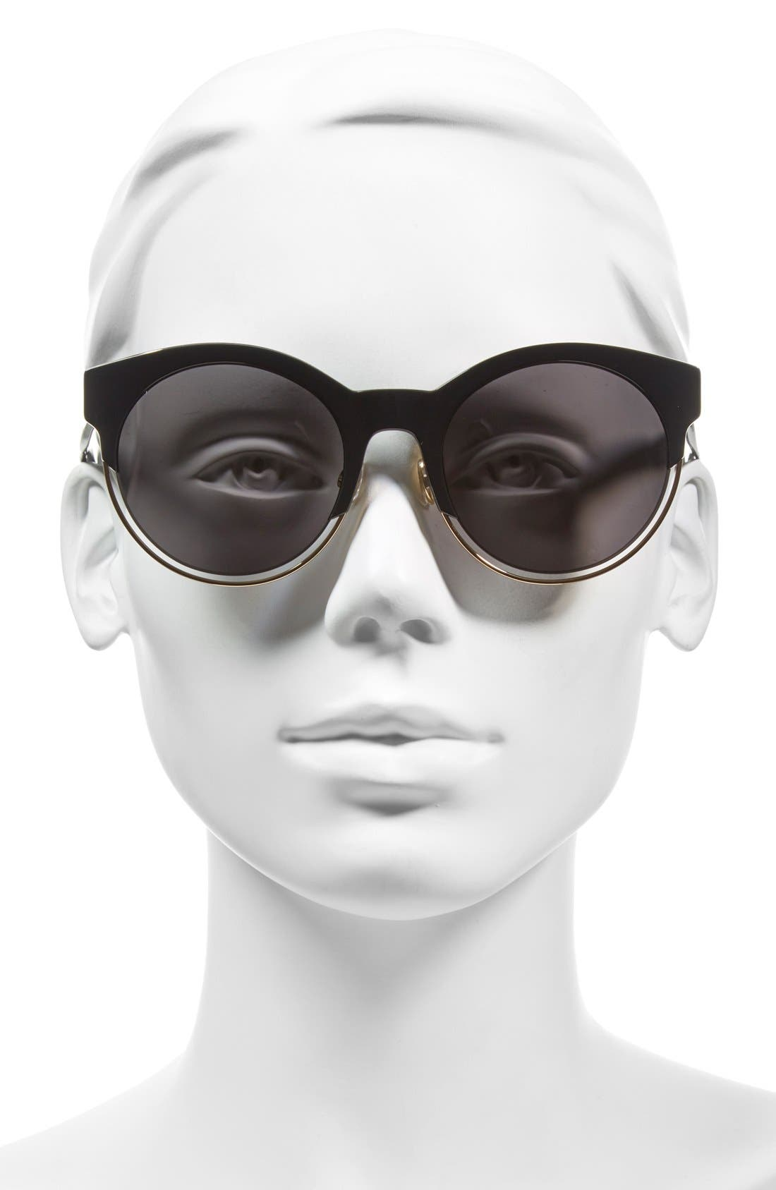 Siderall 1 53mm Round Sunglasses,                             Alternate thumbnail 10, color,