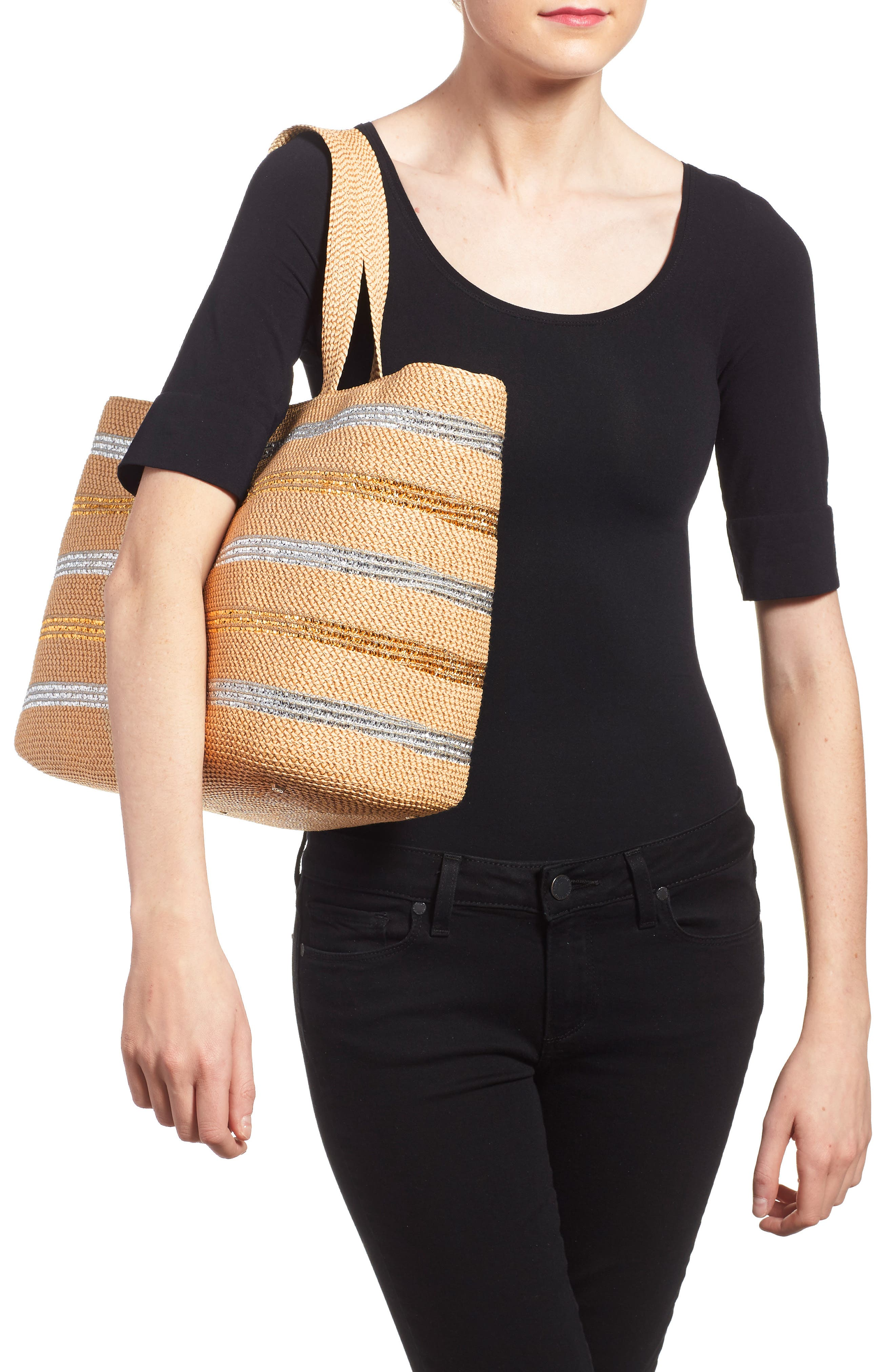 'Sinclair' Squishee<sup>®</sup> Tote,                             Alternate thumbnail 6, color,