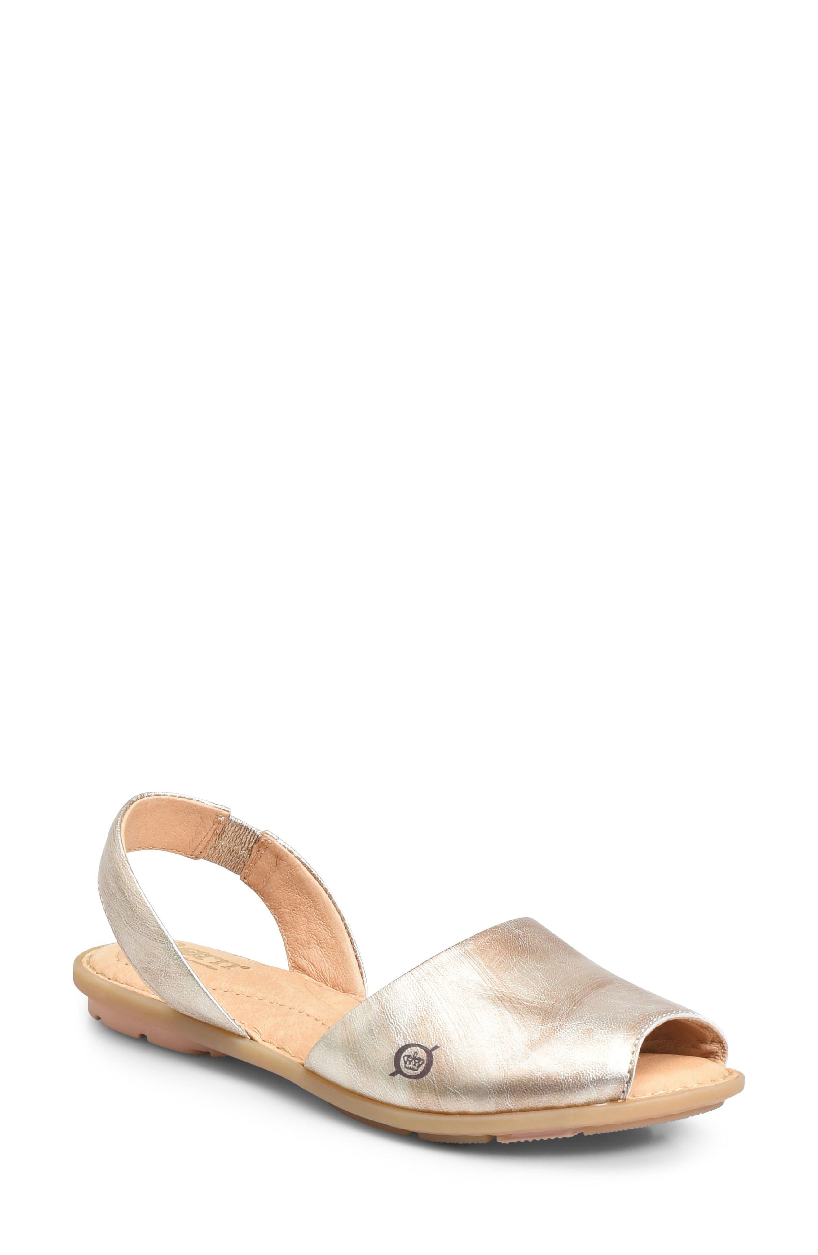 B?rn Trang Sandal, Metallic
