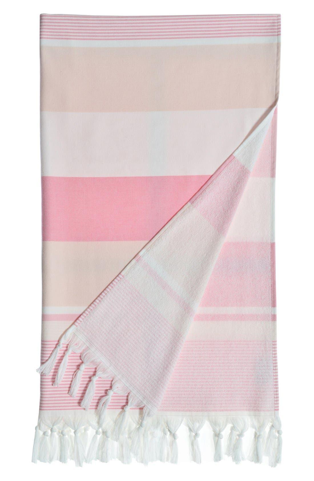 'Summer Loving' Turkish Pestemal Towel,                         Main,                         color, 650