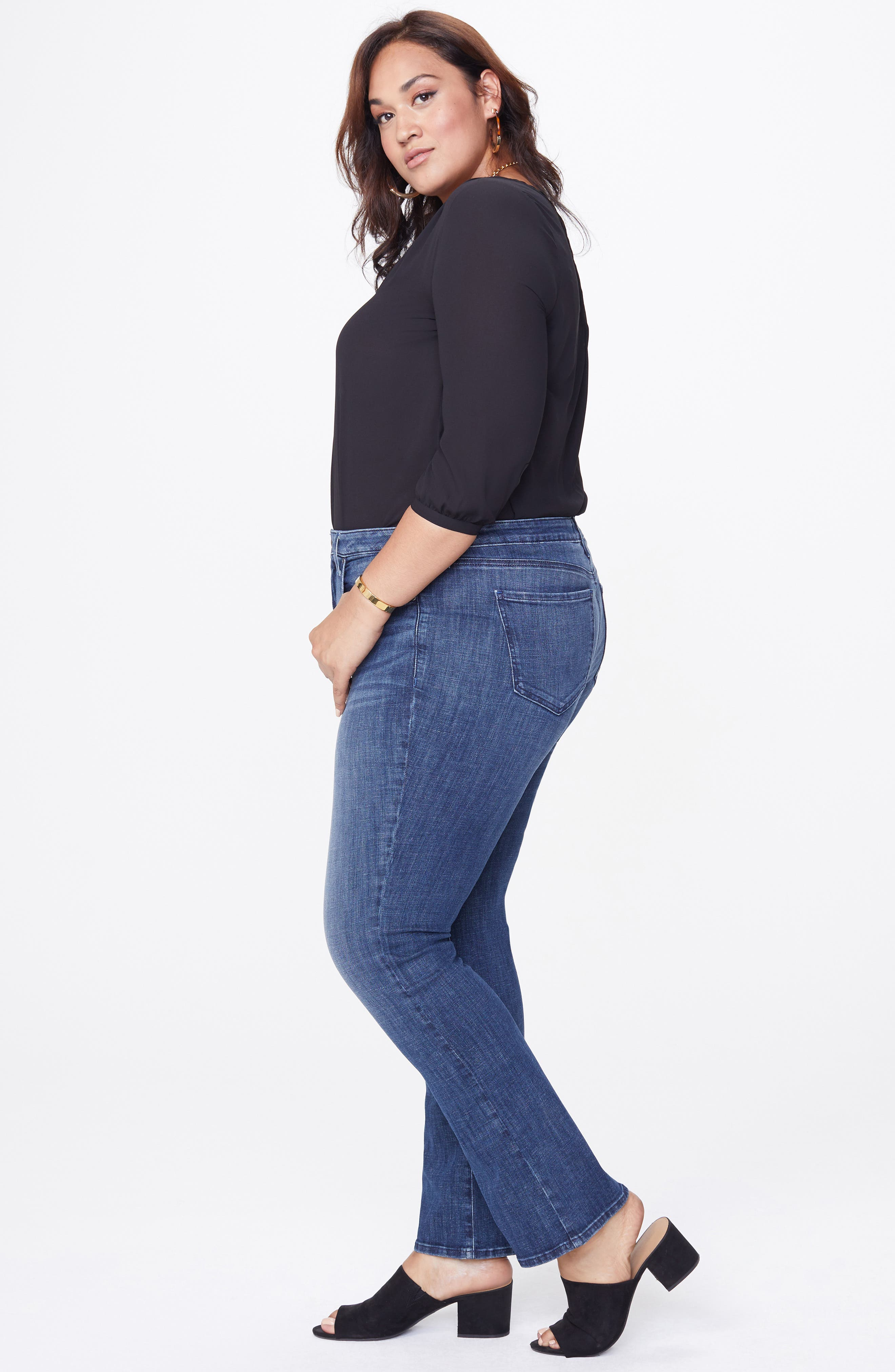 Barbara Bootcut Jeans,                             Alternate thumbnail 6, color,                             LUPINE
