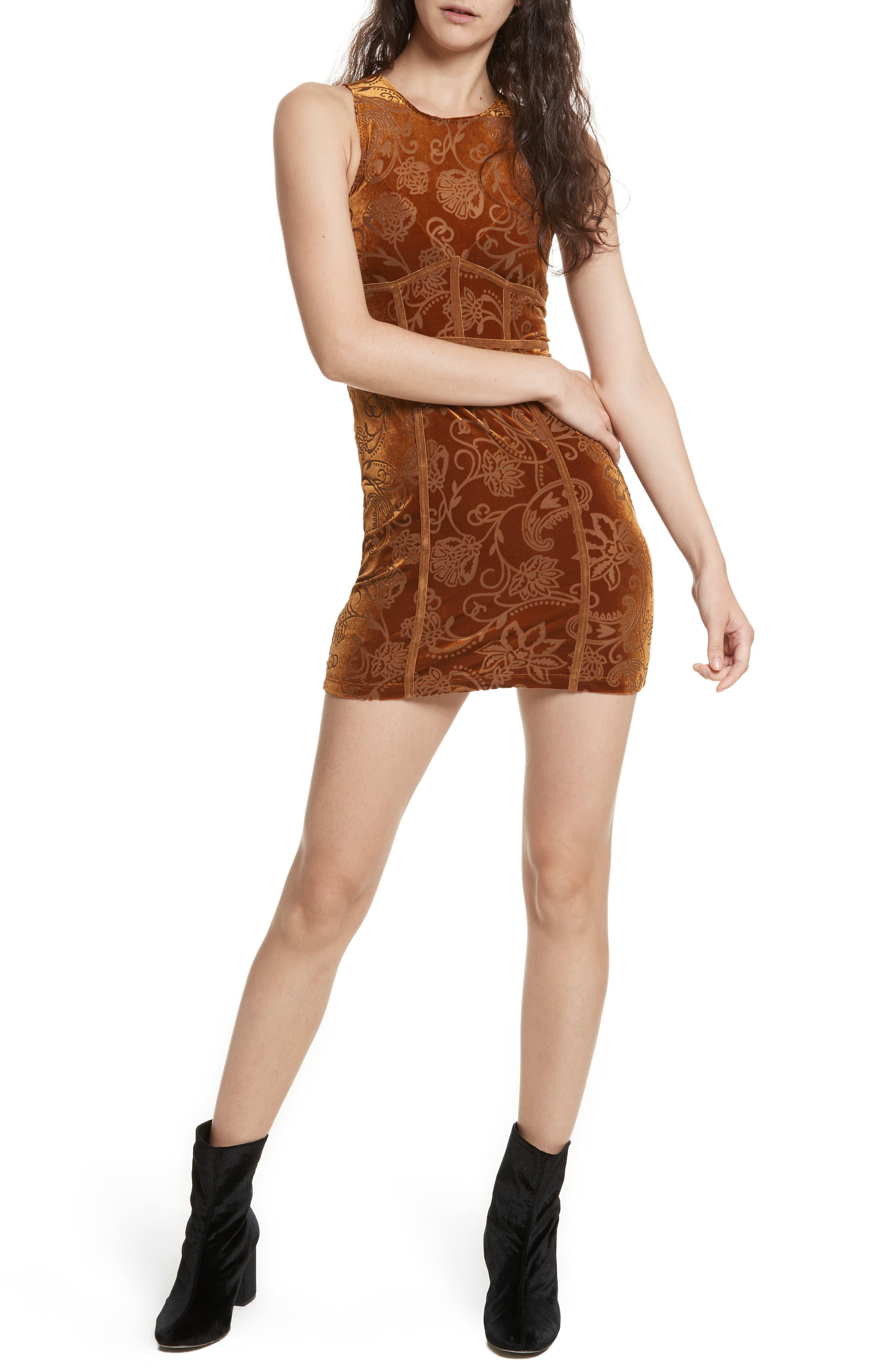 Burnout Babe Body-Con Dress,                             Main thumbnail 2, color,