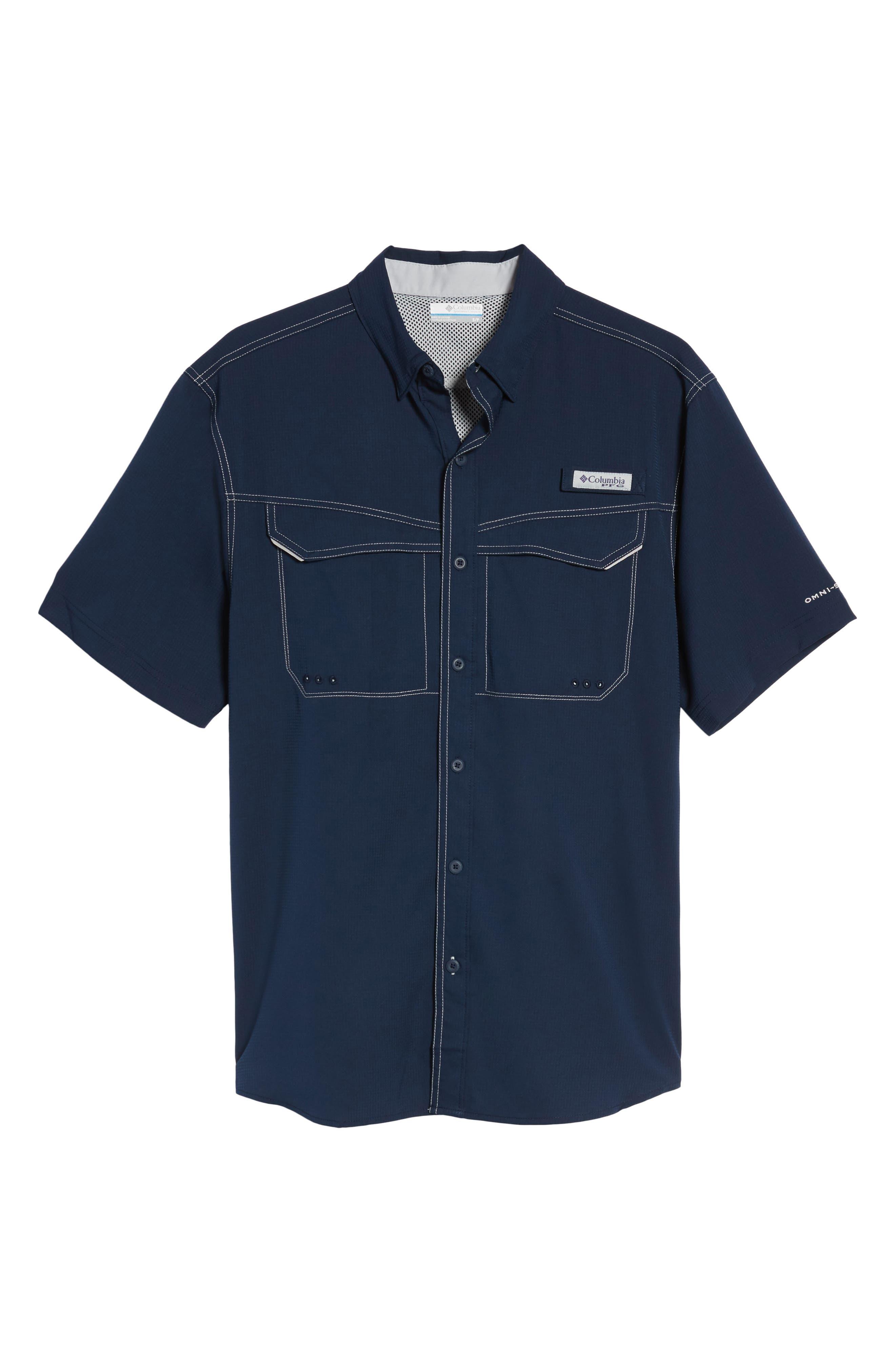 PFG Low Drag Offshore Woven Shirt,                             Alternate thumbnail 27, color,
