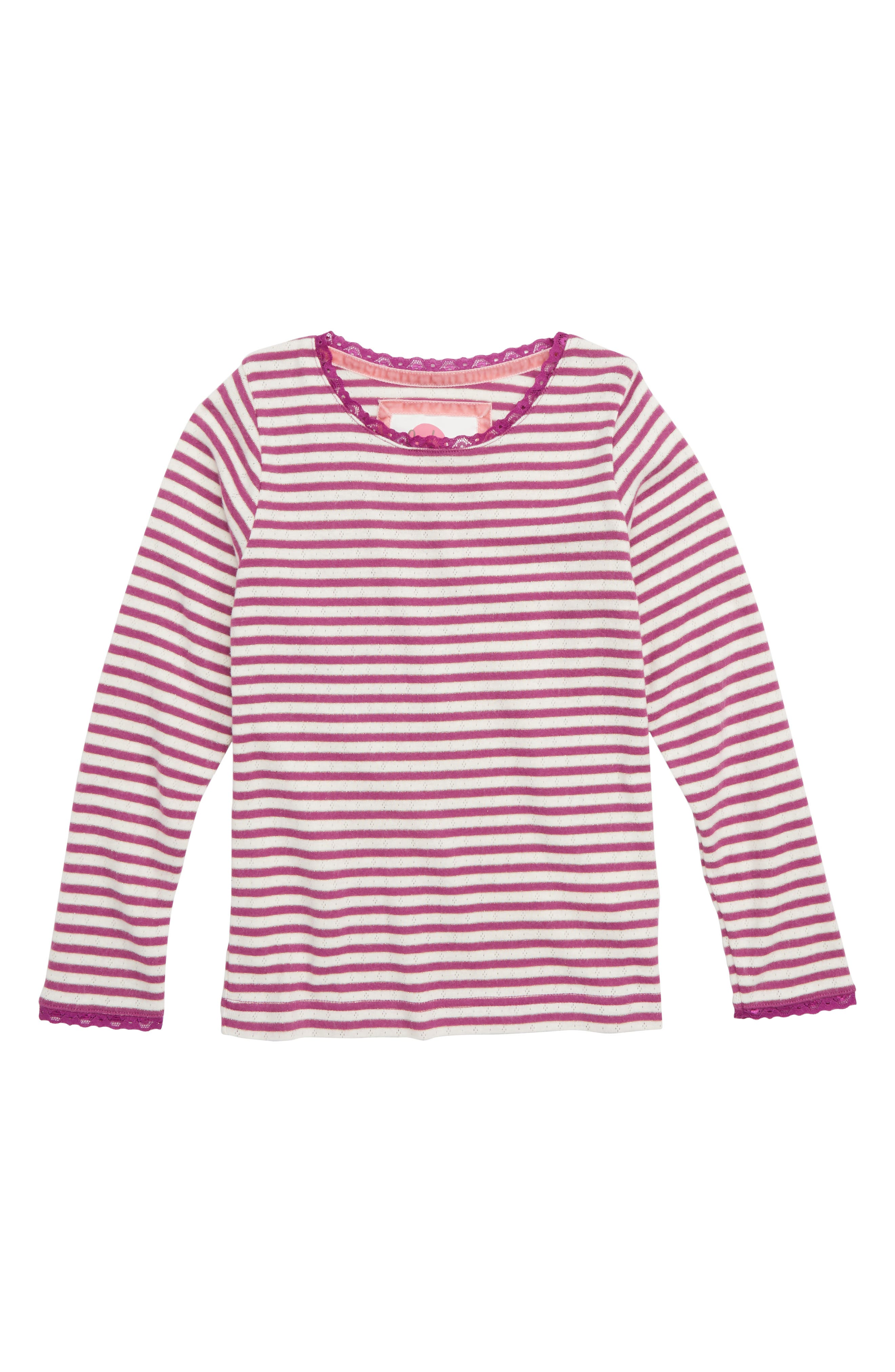 Sparkly Pointelle Tee,                             Main thumbnail 1, color,                             514