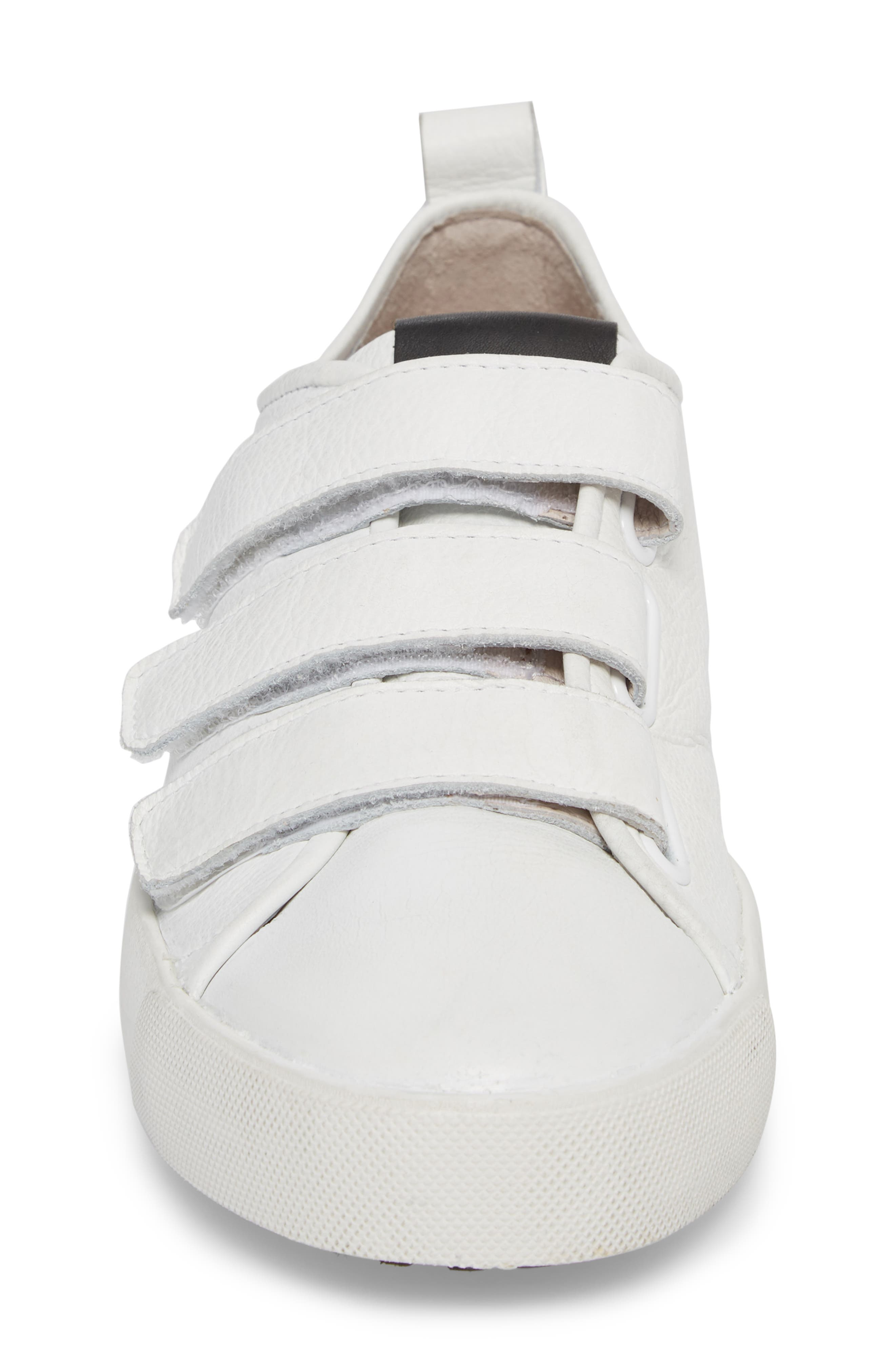 PM41 Low Top Sneaker,                             Alternate thumbnail 4, color,                             WHITE LEATHER