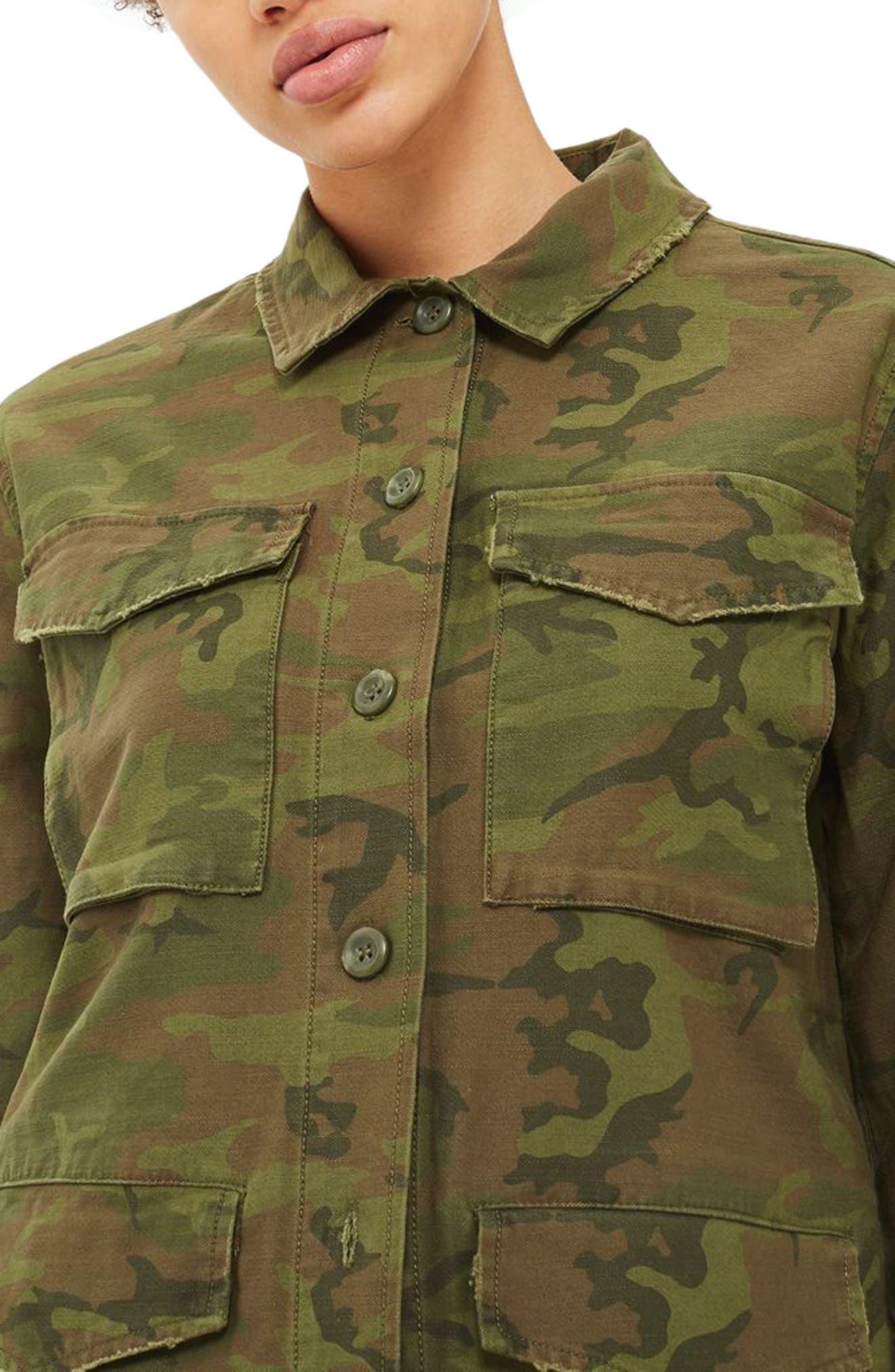 Stanley Camo Shirt Jacket,                         Main,                         color, 300