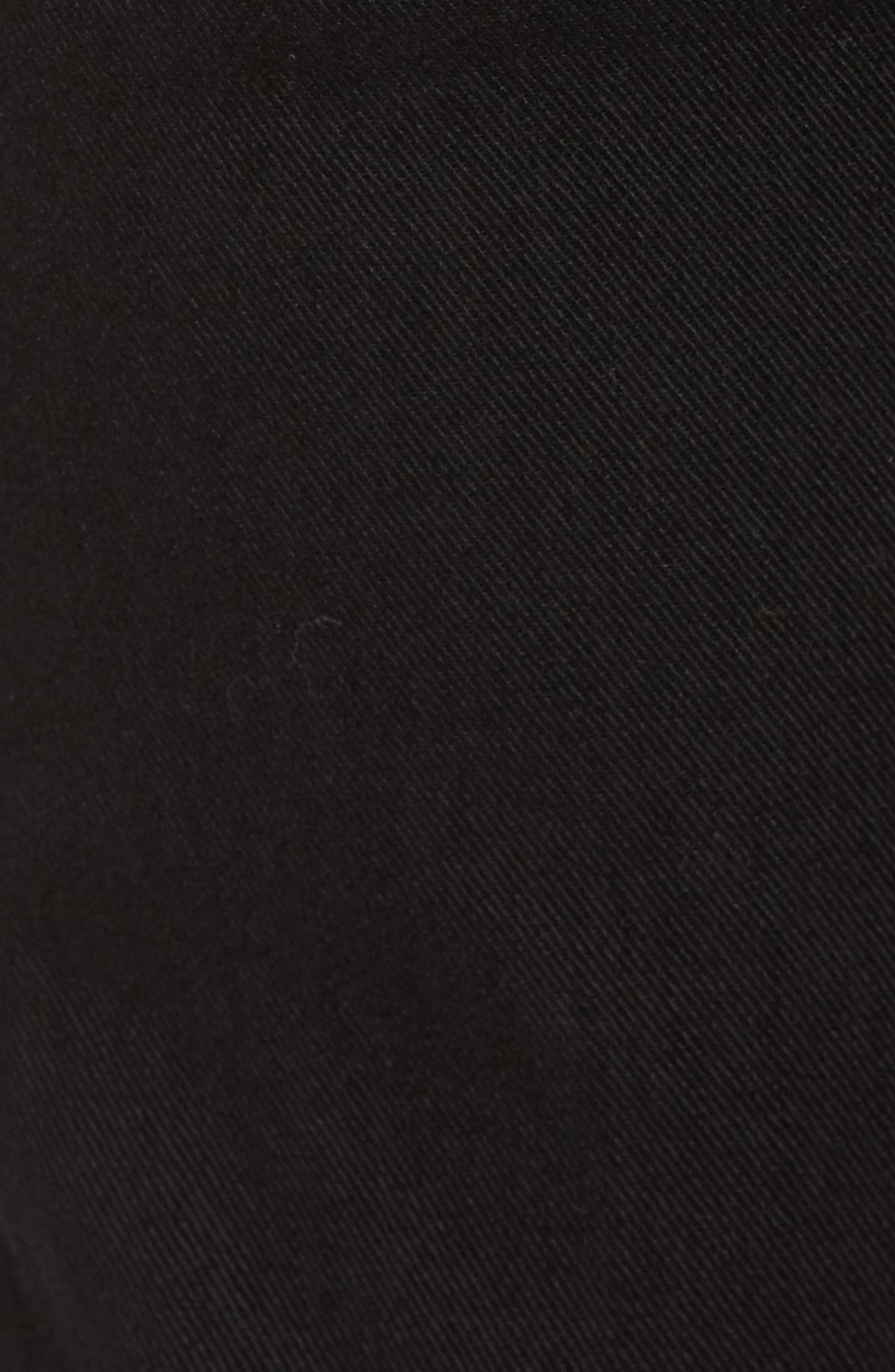 Thommer Slim Fit Jeans,                             Alternate thumbnail 5, color,                             BLACK/ DENIM