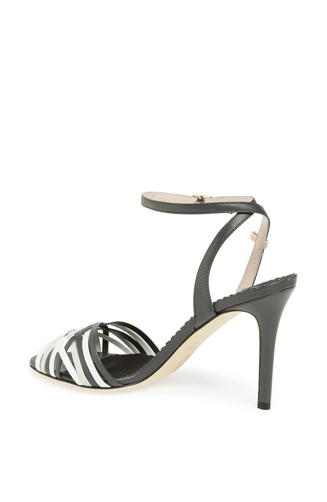 SJP 'Maud' Sandal,                             Alternate thumbnail 3, color,                             001