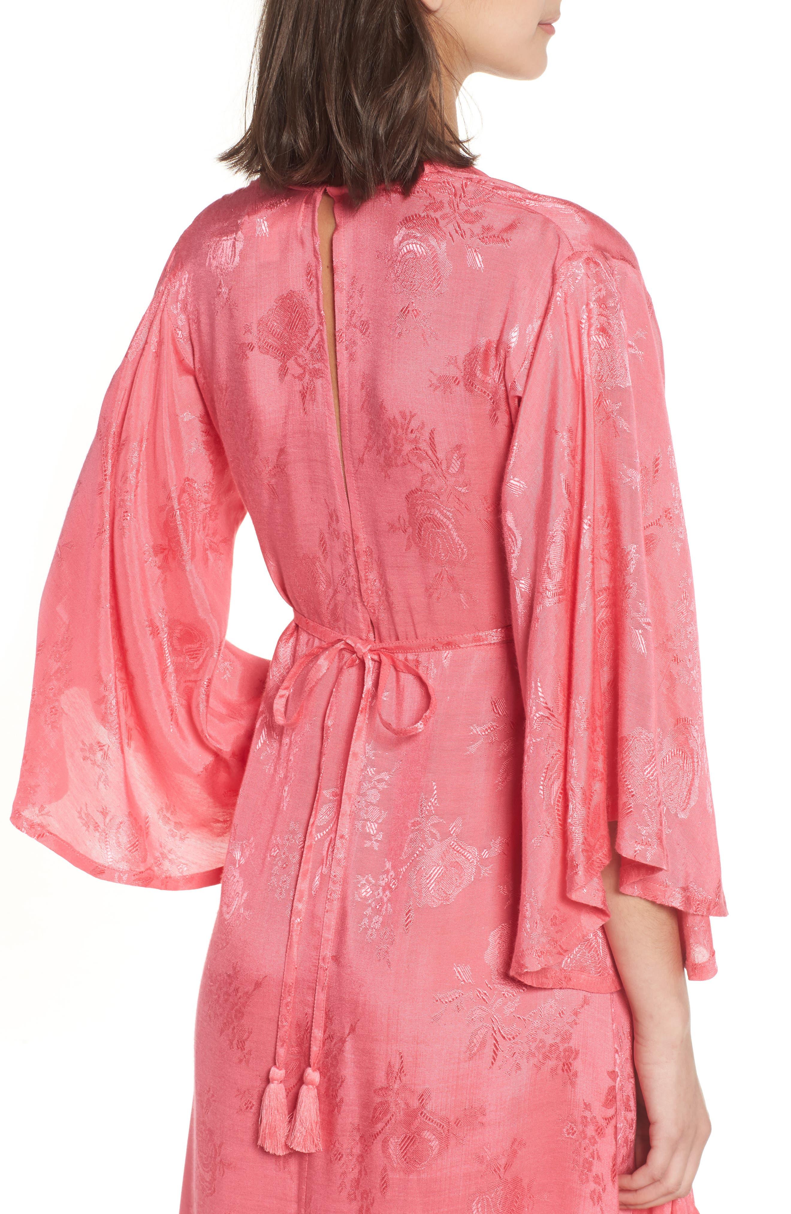 Florence Handkerchief Hem Dress,                             Alternate thumbnail 4, color,                             650