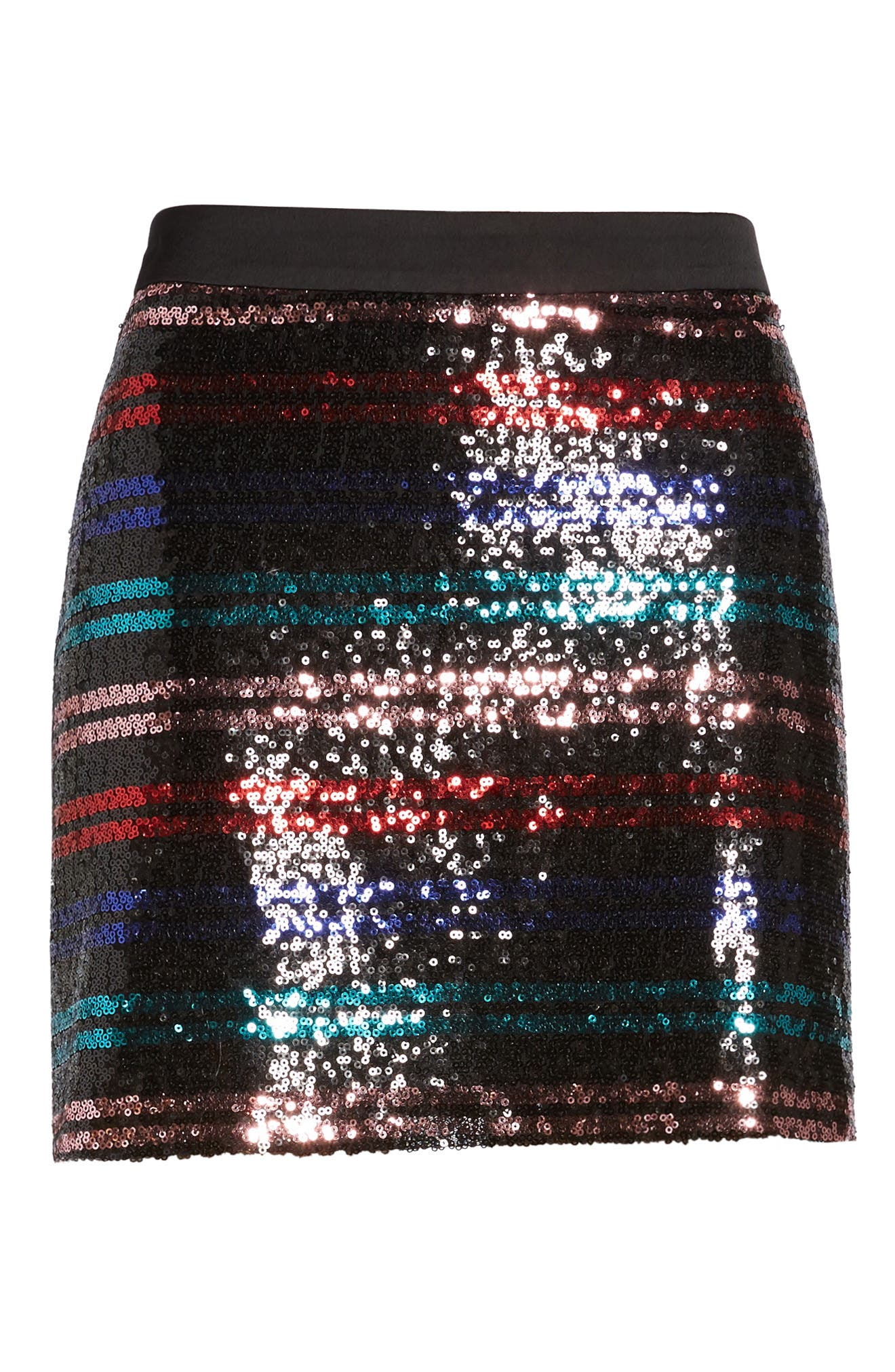 Ora Sequin Miniskirt,                             Alternate thumbnail 6, color,