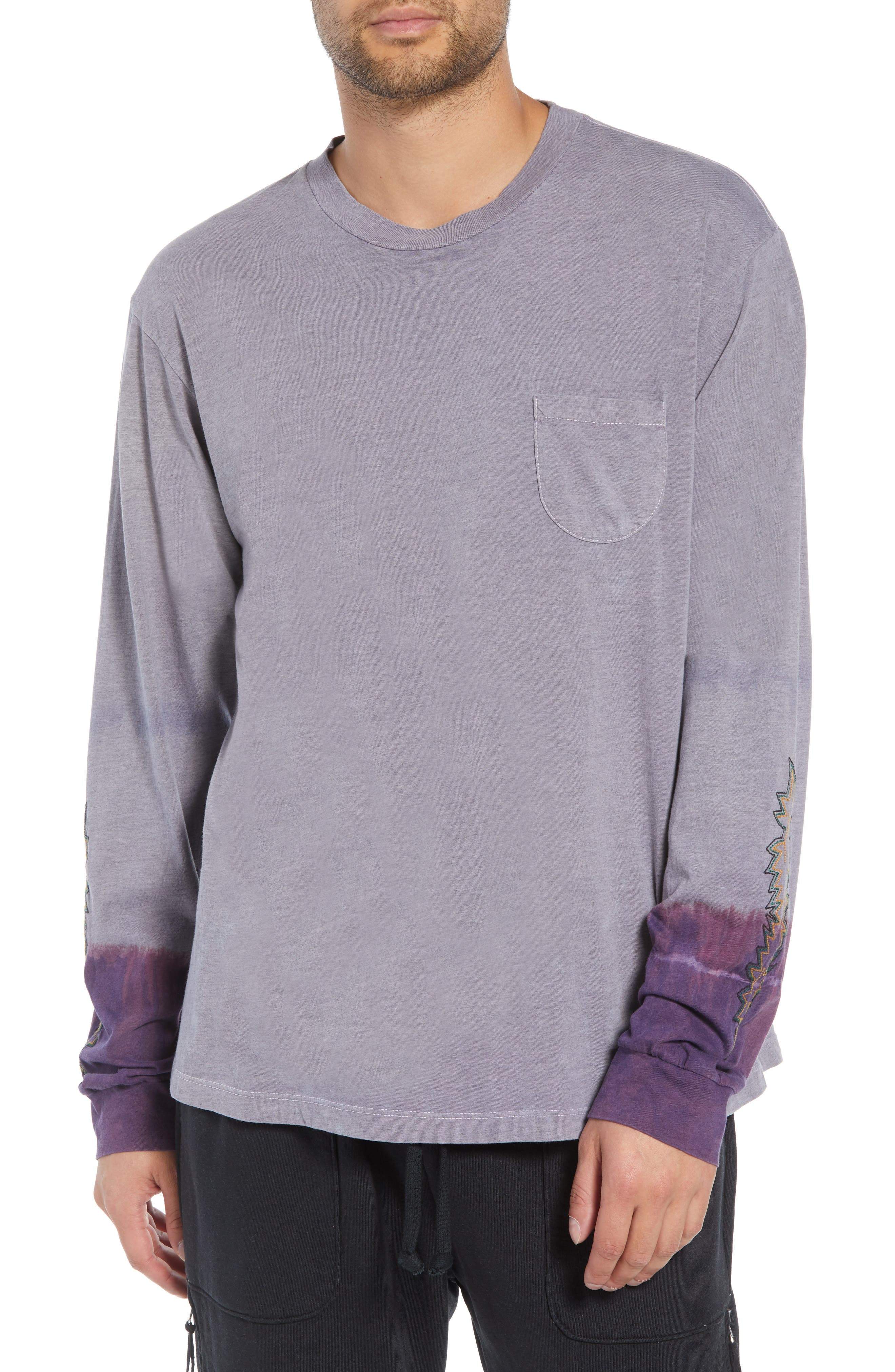 Kojak Pocket T-Shirt,                             Main thumbnail 1, color,                             PURPLE ASH