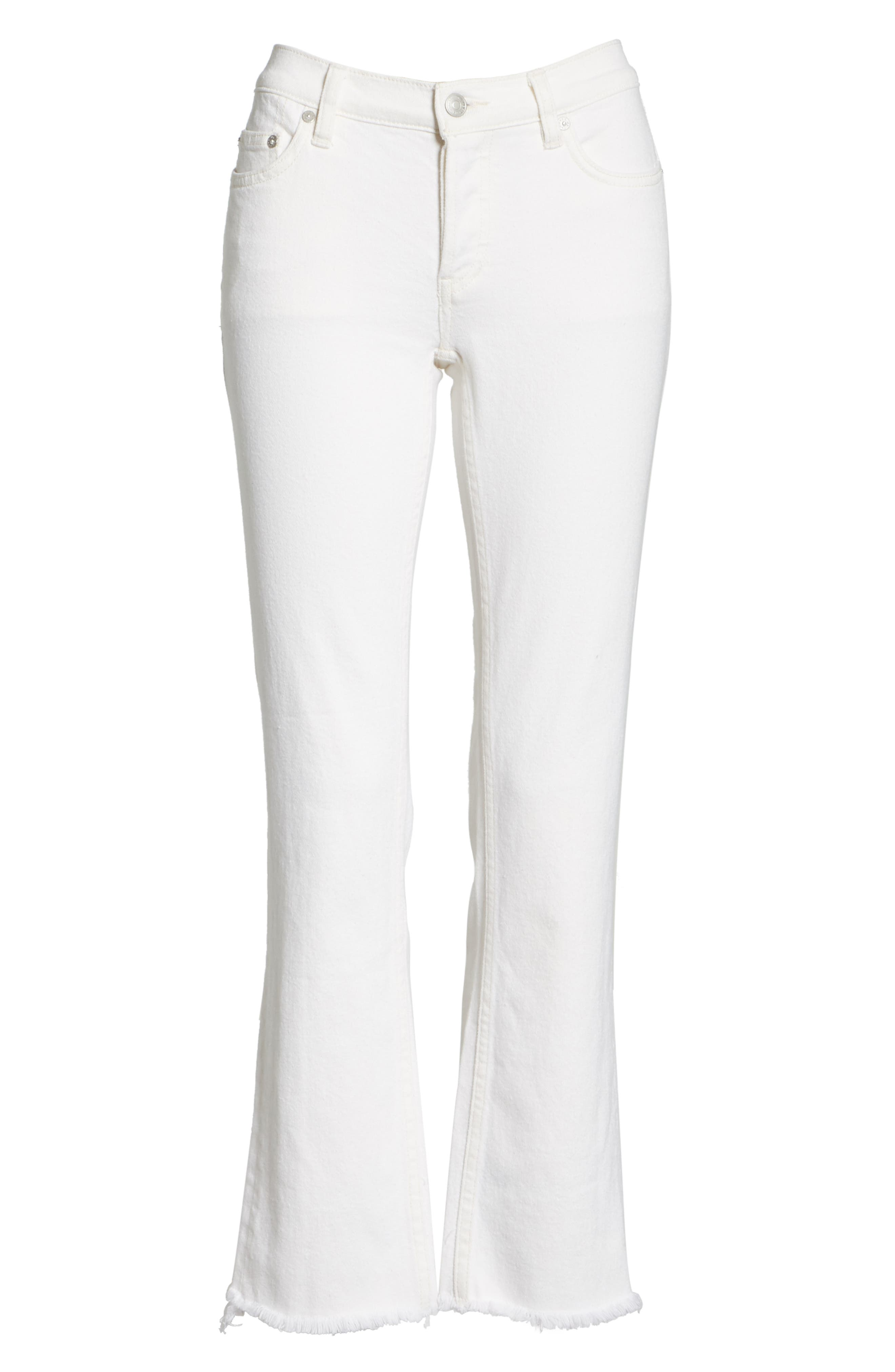 We the Free by Free People Austen Straight Leg Jeans,                             Alternate thumbnail 6, color,                             100
