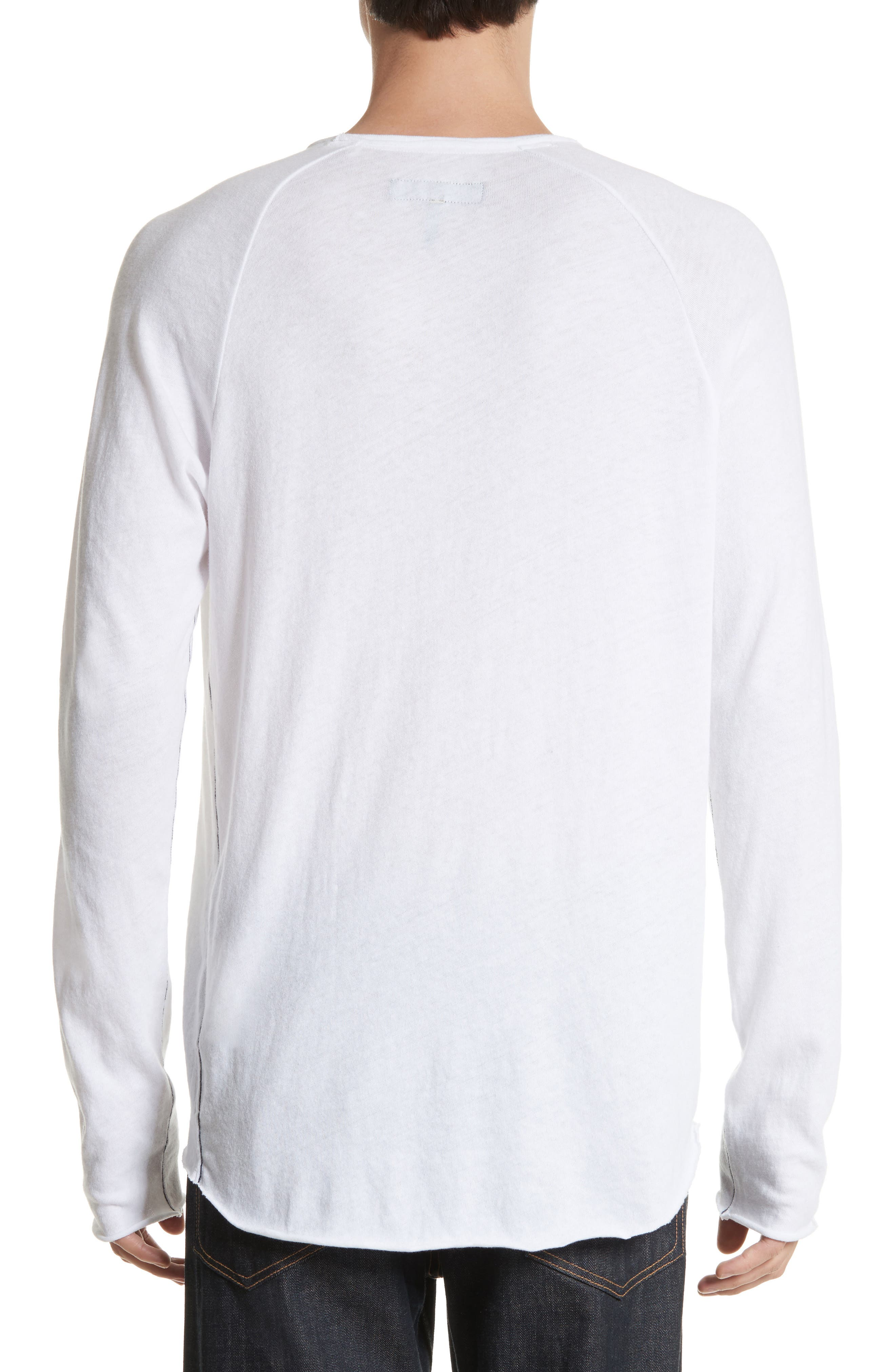 Rupert Long Sleeve T-Shirt,                             Alternate thumbnail 2, color,                             100