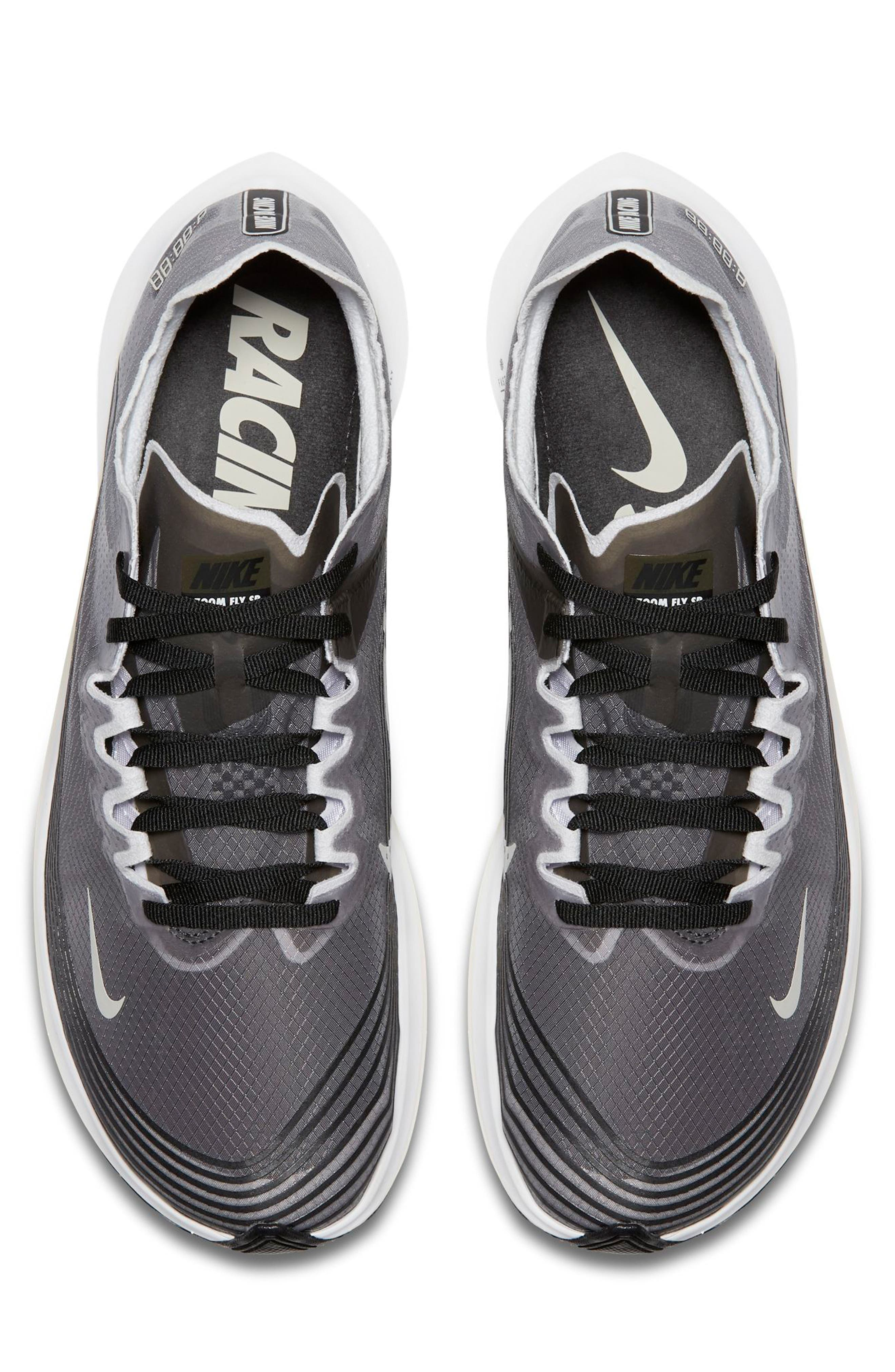 Zoom Fly SP Running Shoe,                             Alternate thumbnail 4, color,                             001