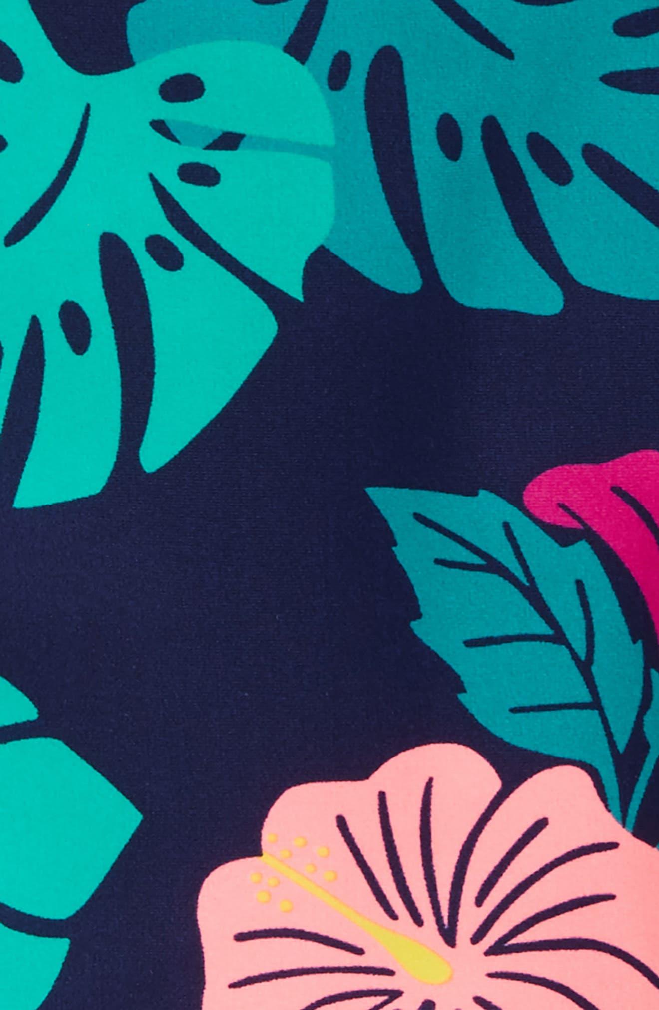 Mixed Print Two-Piece Rashguard Swimsuit,                             Alternate thumbnail 2, color,