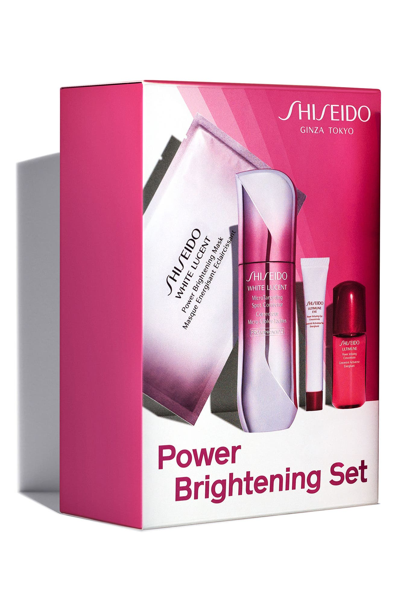 White Lucent Brightening Set,                             Alternate thumbnail 2, color,                             000