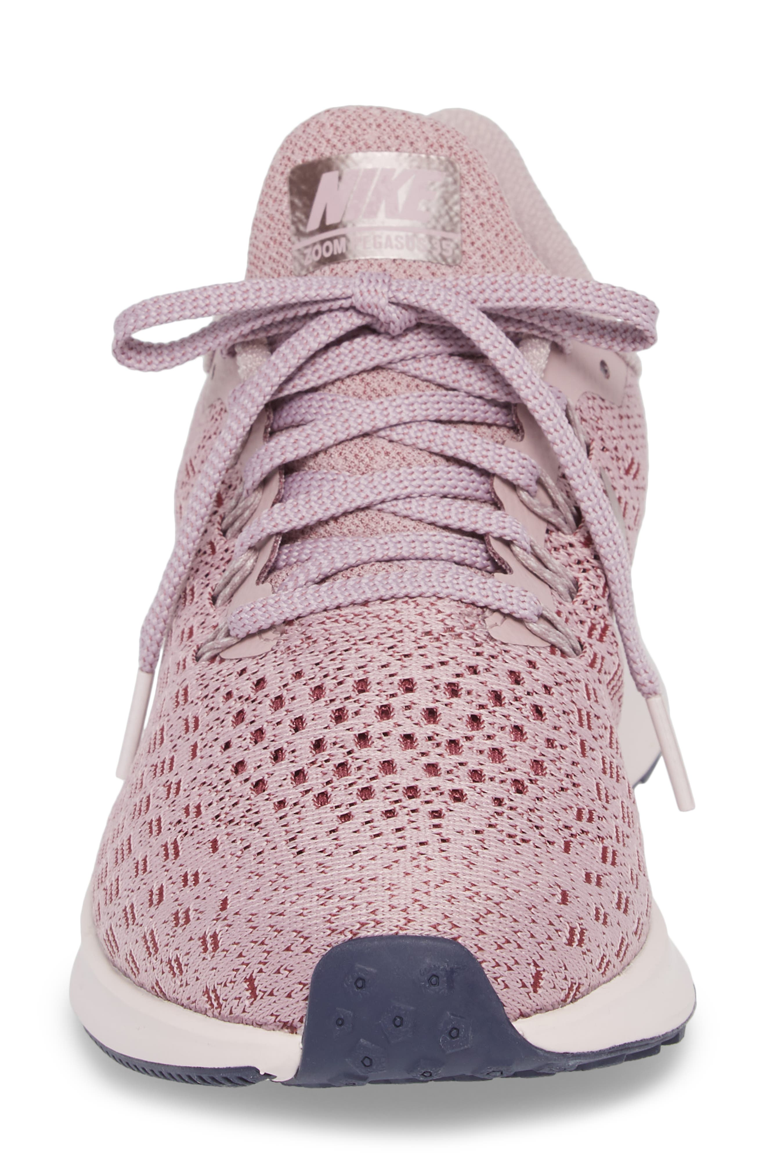 Air Zoom Pegasus 35 Running Shoe,                             Alternate thumbnail 4, color,                             ELEMENTAL ROSE/ BARELY ROSE