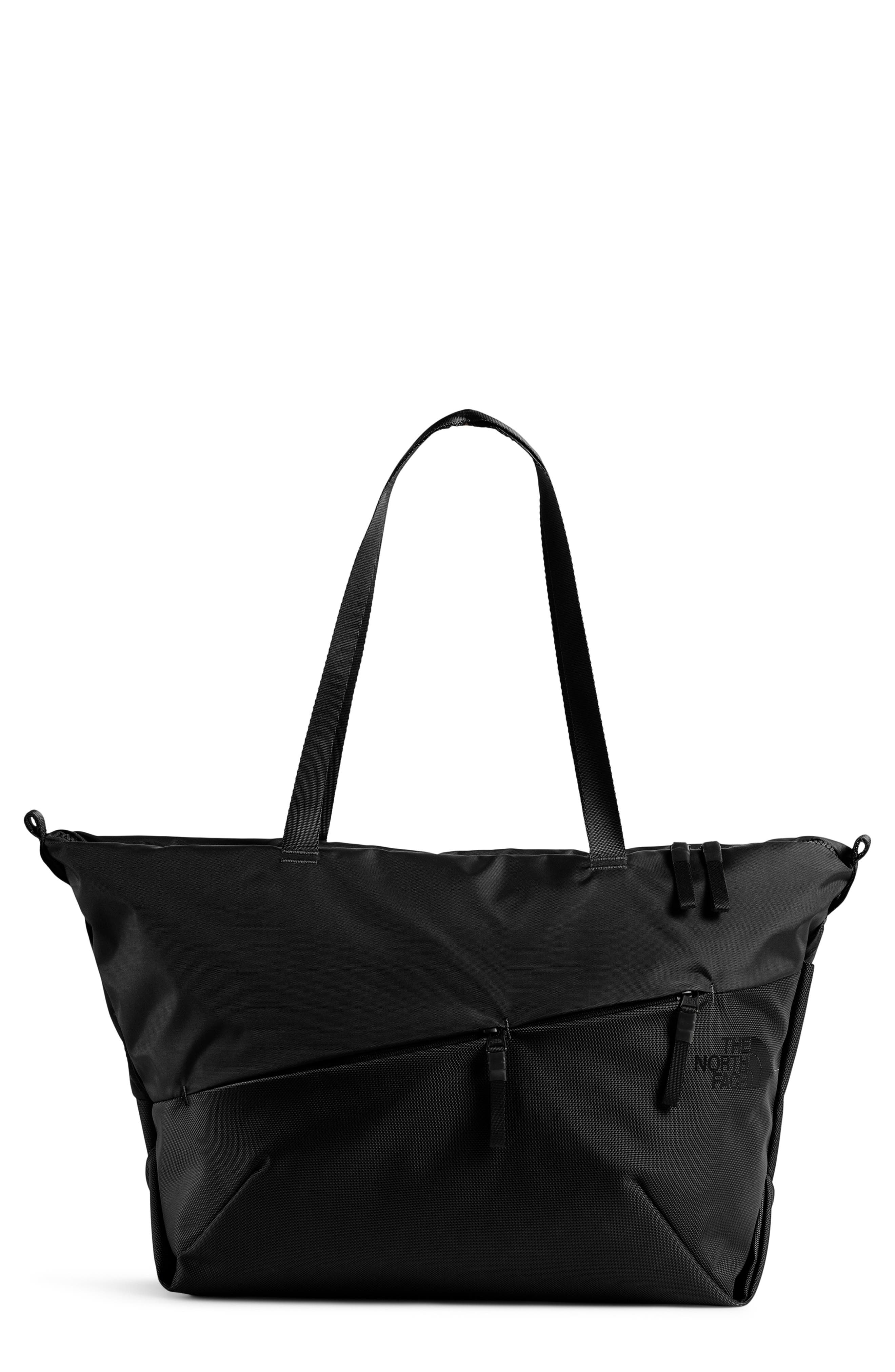 Electra Large Tote,                             Main thumbnail 1, color,                             TNF BLACK/ TNF BLACK