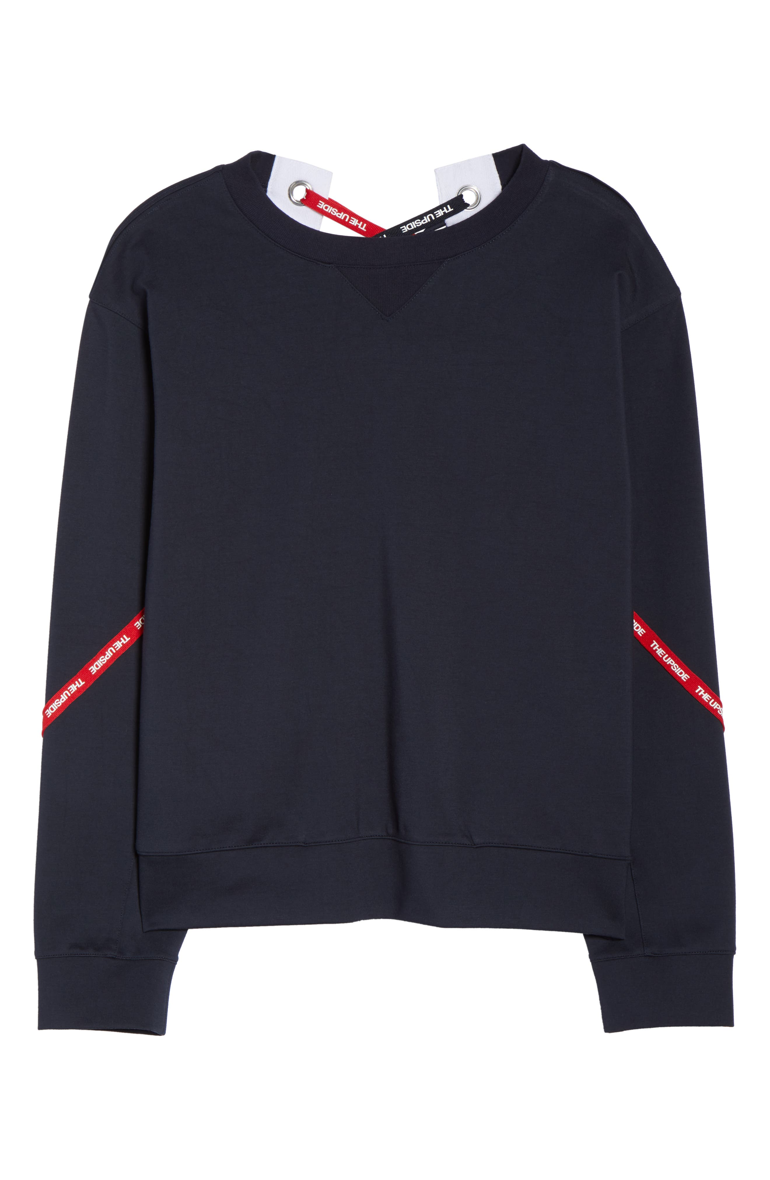 Bardot Crew Sweatshirt,                             Alternate thumbnail 7, color,                             400