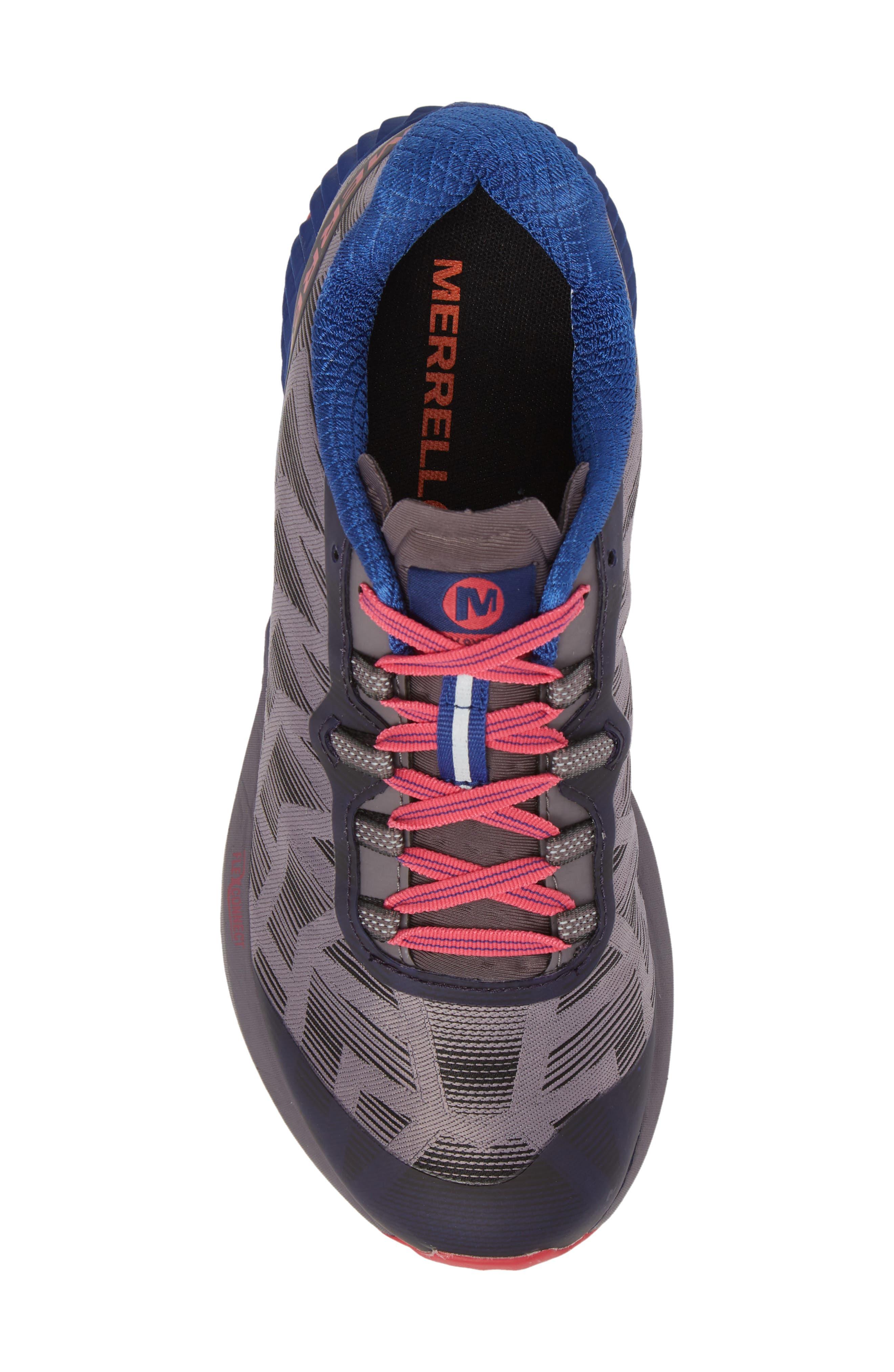 Agility Synthesis Flex Sneaker,                             Alternate thumbnail 5, color,                             SHARK FABRIC