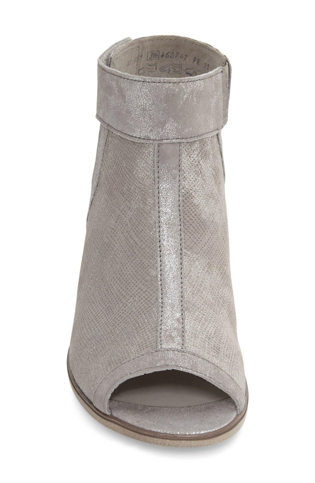 Open Toe Leather Sandal,                             Alternate thumbnail 4, color,                             040