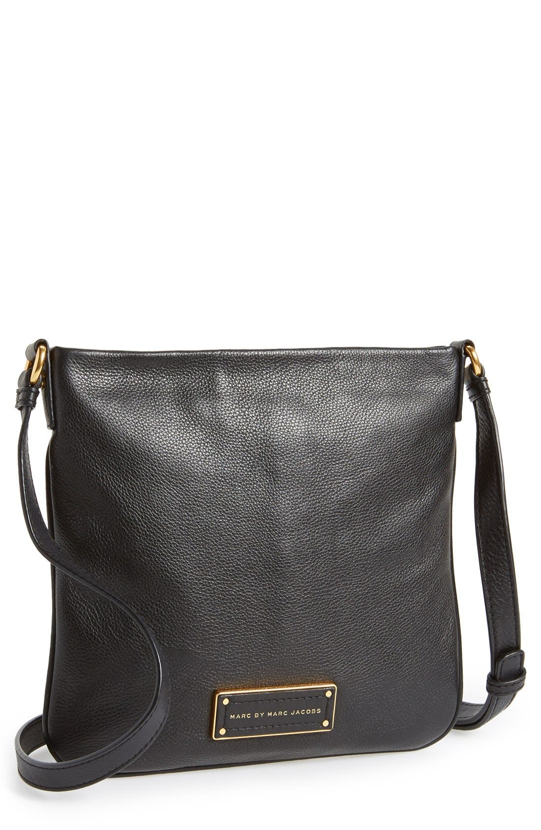 MARC JACOBS,                             MARC BY MARC JACOBS 'Too Hot to Handle - Sia' Crossbody Bag,                             Main thumbnail 1, color,                             001