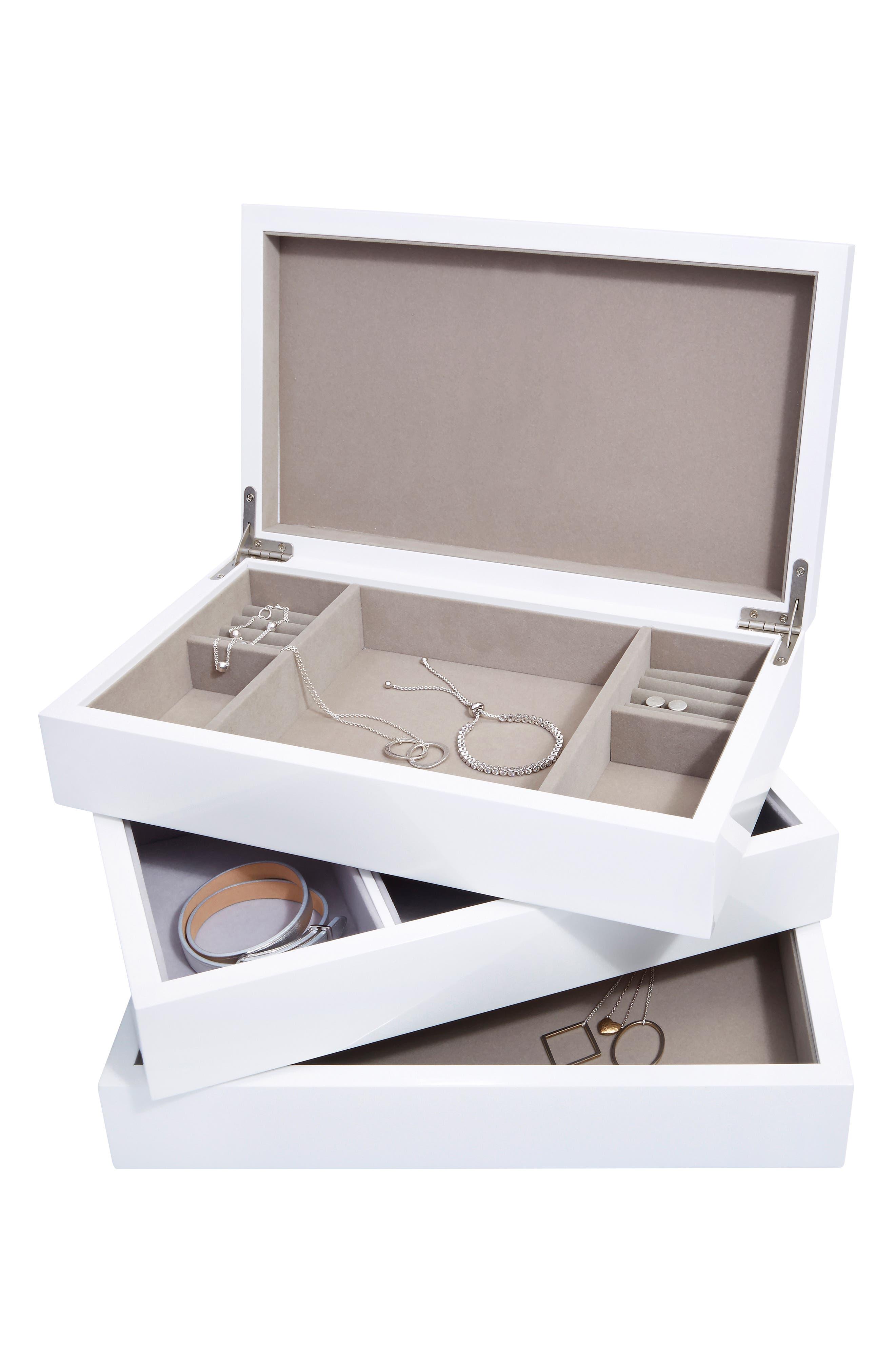Lacquer Jewelry Box, Main, color, 100