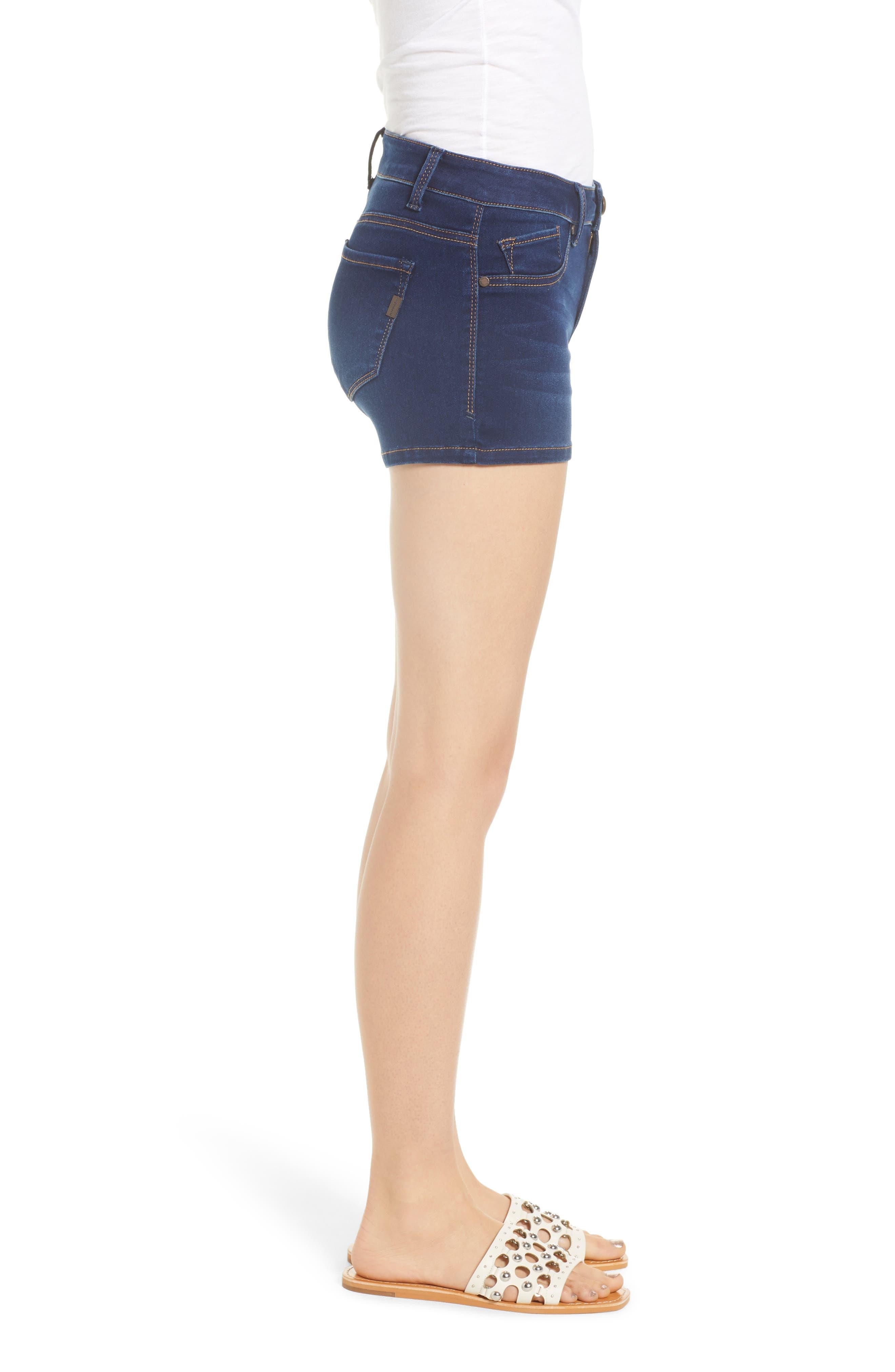 Butter Denim Shorts,                             Alternate thumbnail 3, color,                             LENNOX