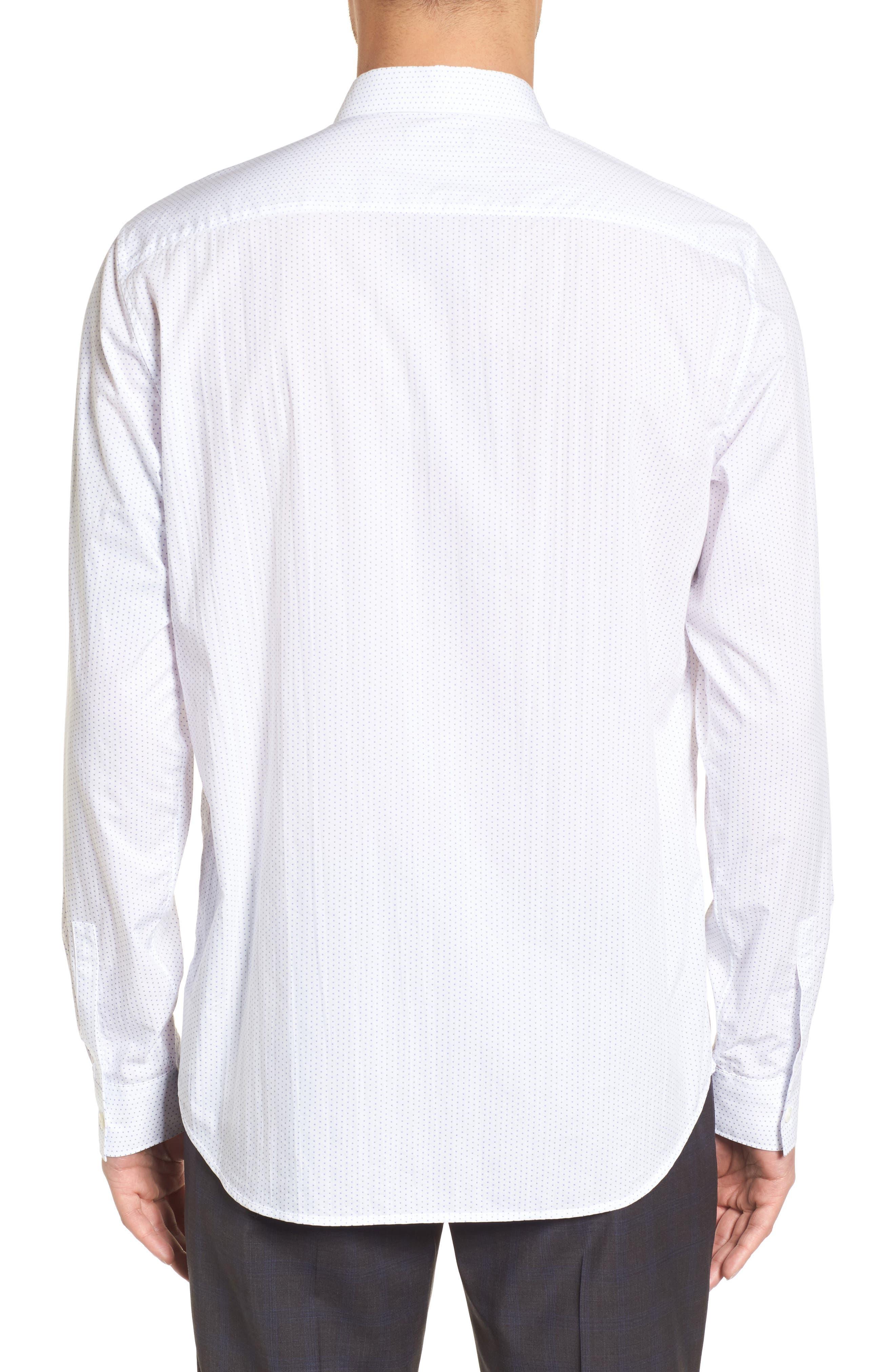 Murray Slim Fit Sport Shirt,                             Alternate thumbnail 3, color,