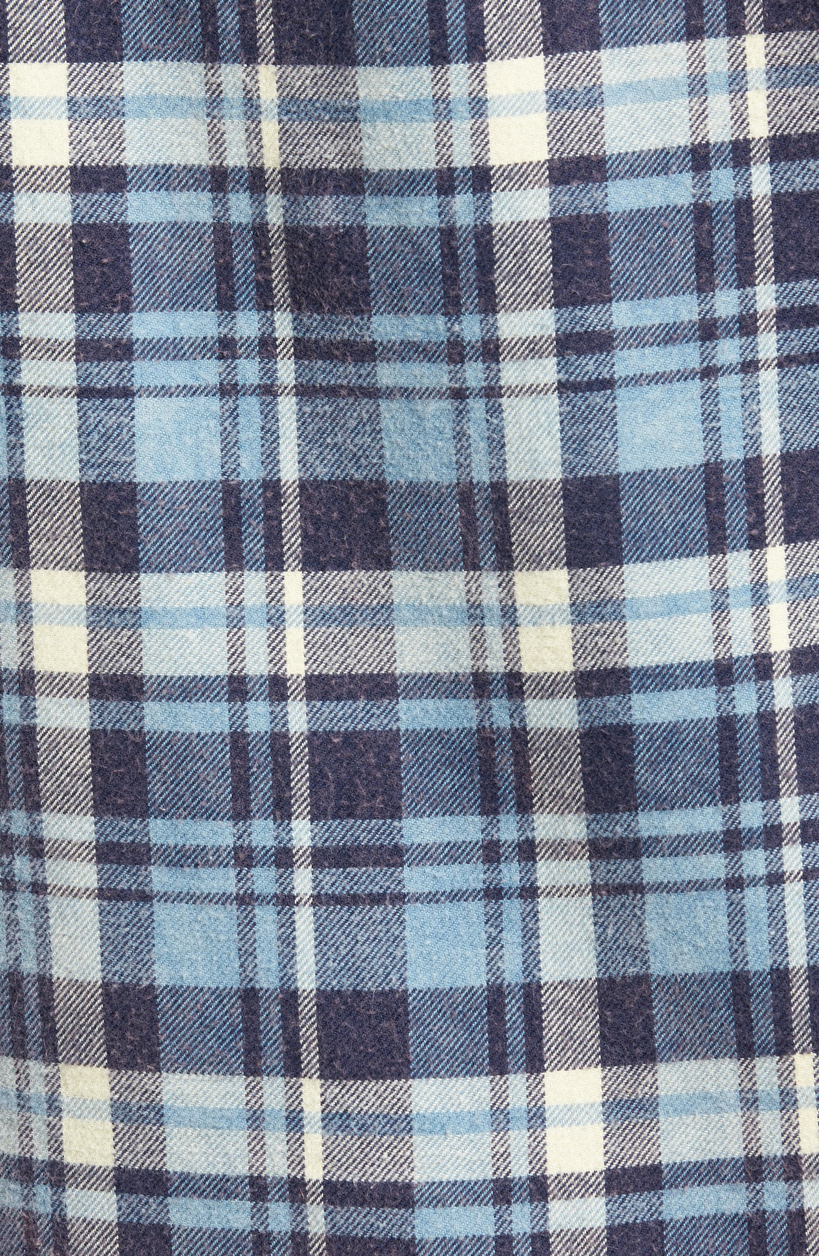 Plaid Flannel Shirt,                             Alternate thumbnail 5, color,                             420