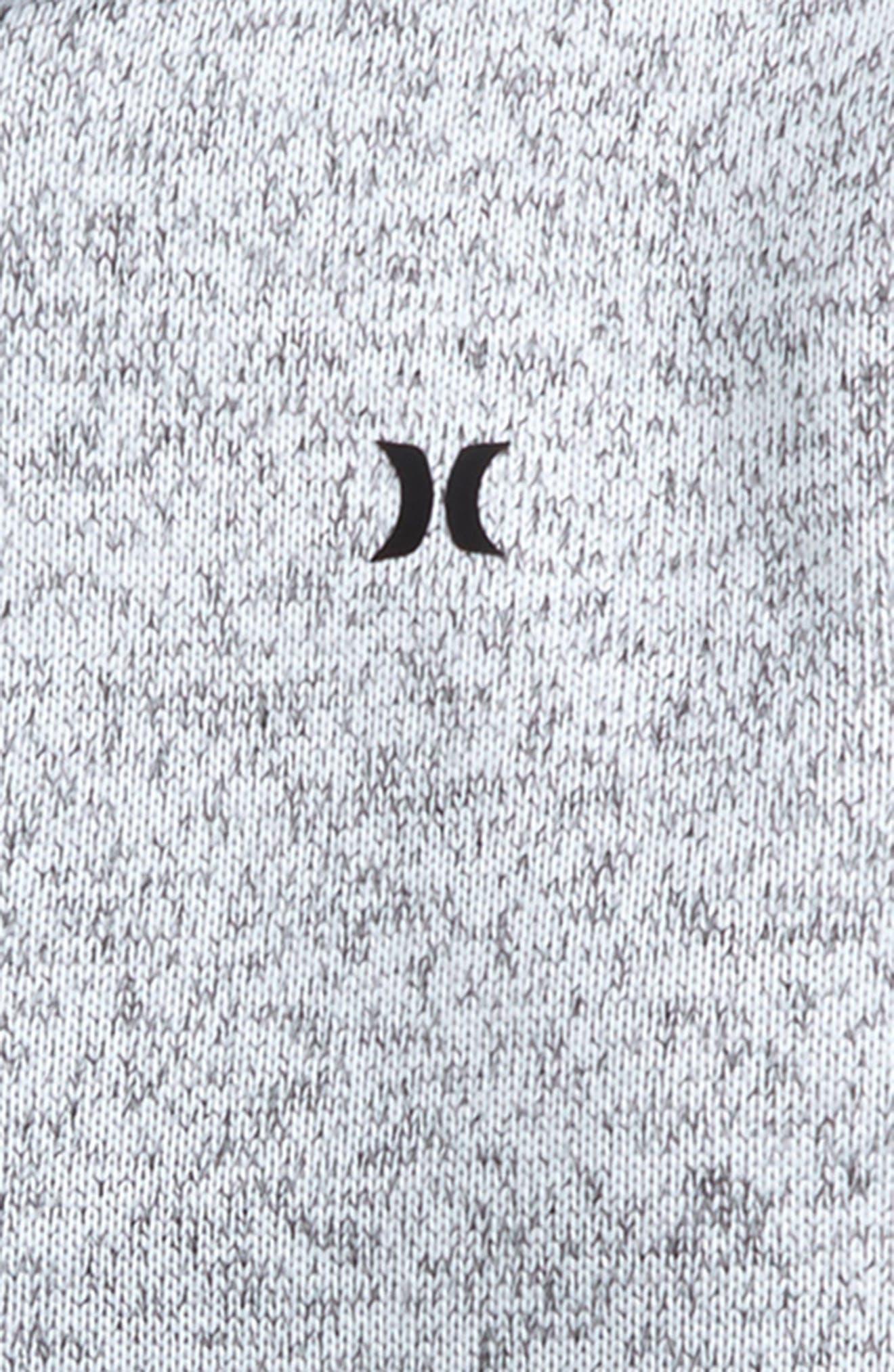 Knit Fleece Zip Hoodie,                             Alternate thumbnail 2, color,                             100