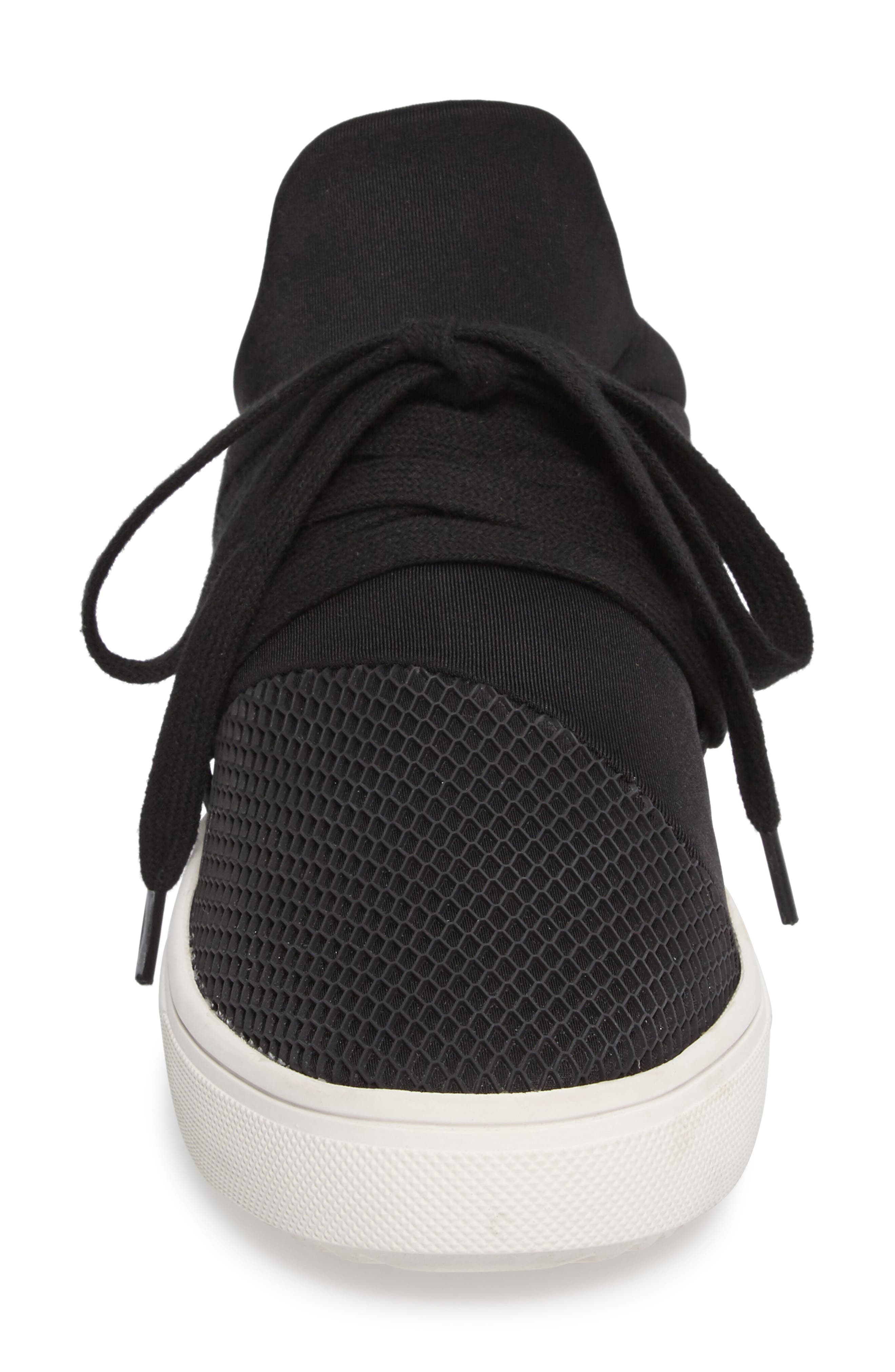 Lancer Sneaker,                             Alternate thumbnail 4, color,                             BLACK