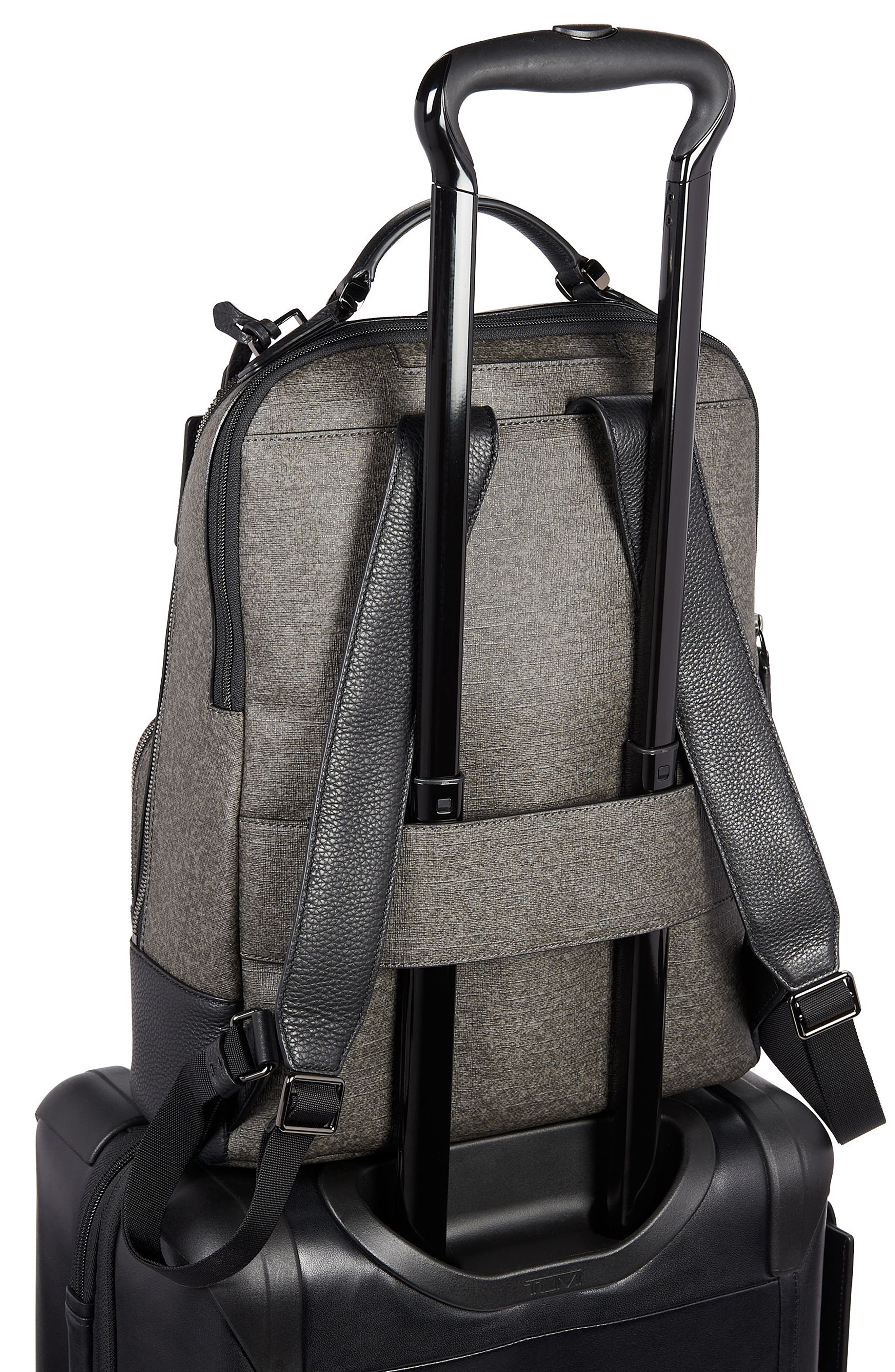 Stanton Gail Commuter Laptop Backpack,                             Alternate thumbnail 3, color,                             EARL GREY