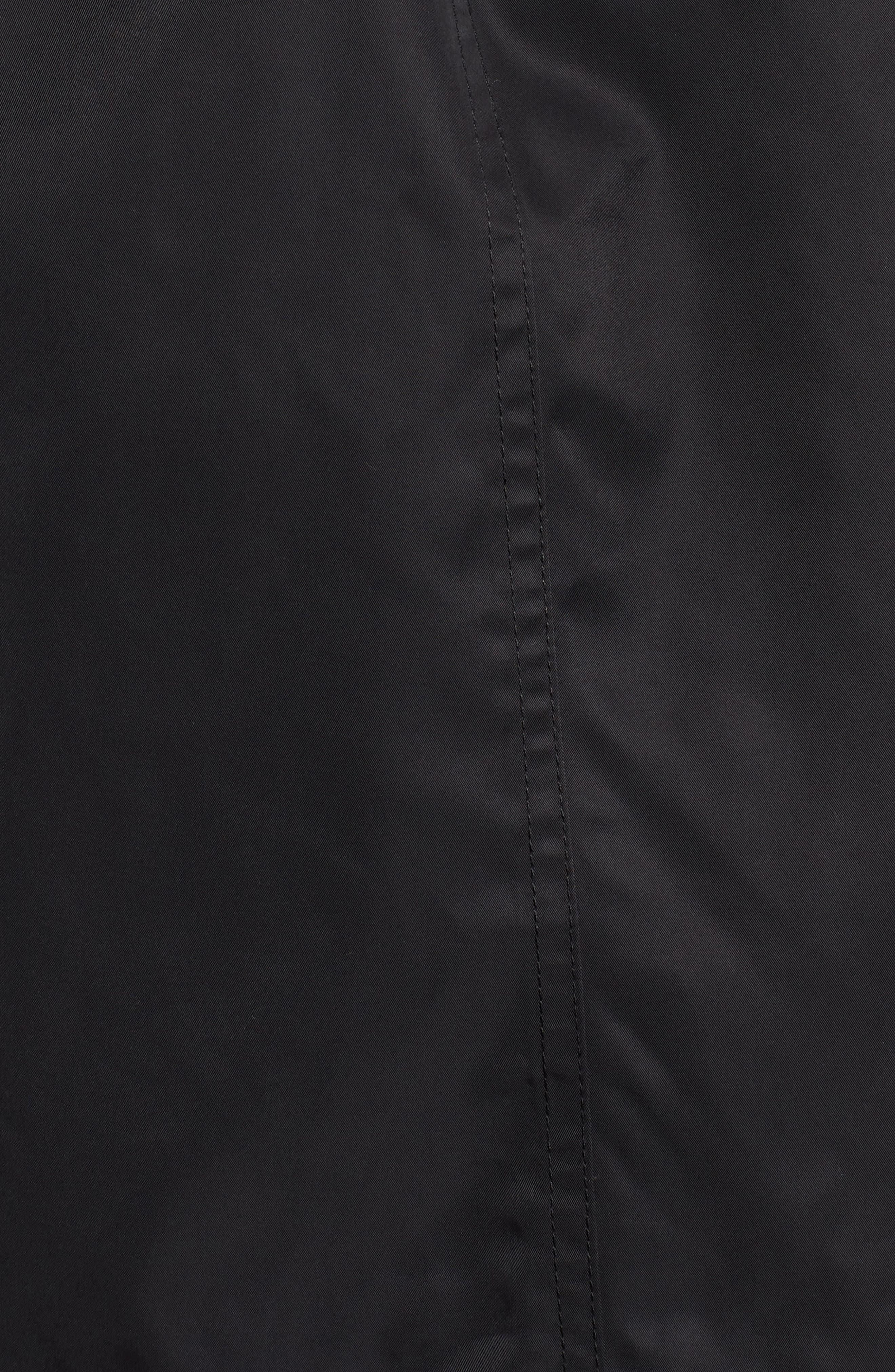 HALOGEN<SUP>®</SUP>,                             Lightweight Trench Coat,                             Alternate thumbnail 7, color,                             BLACK