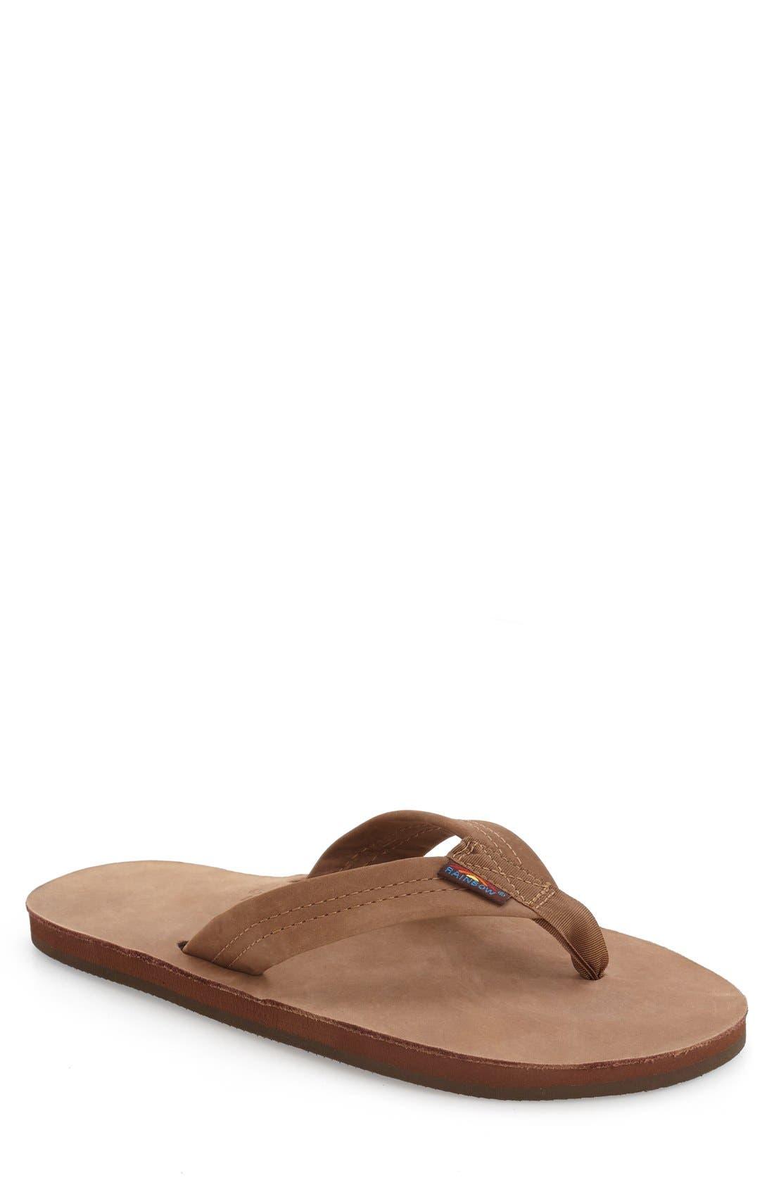 '301Alts' Sandal,                         Main,                         color, DARK BROWN