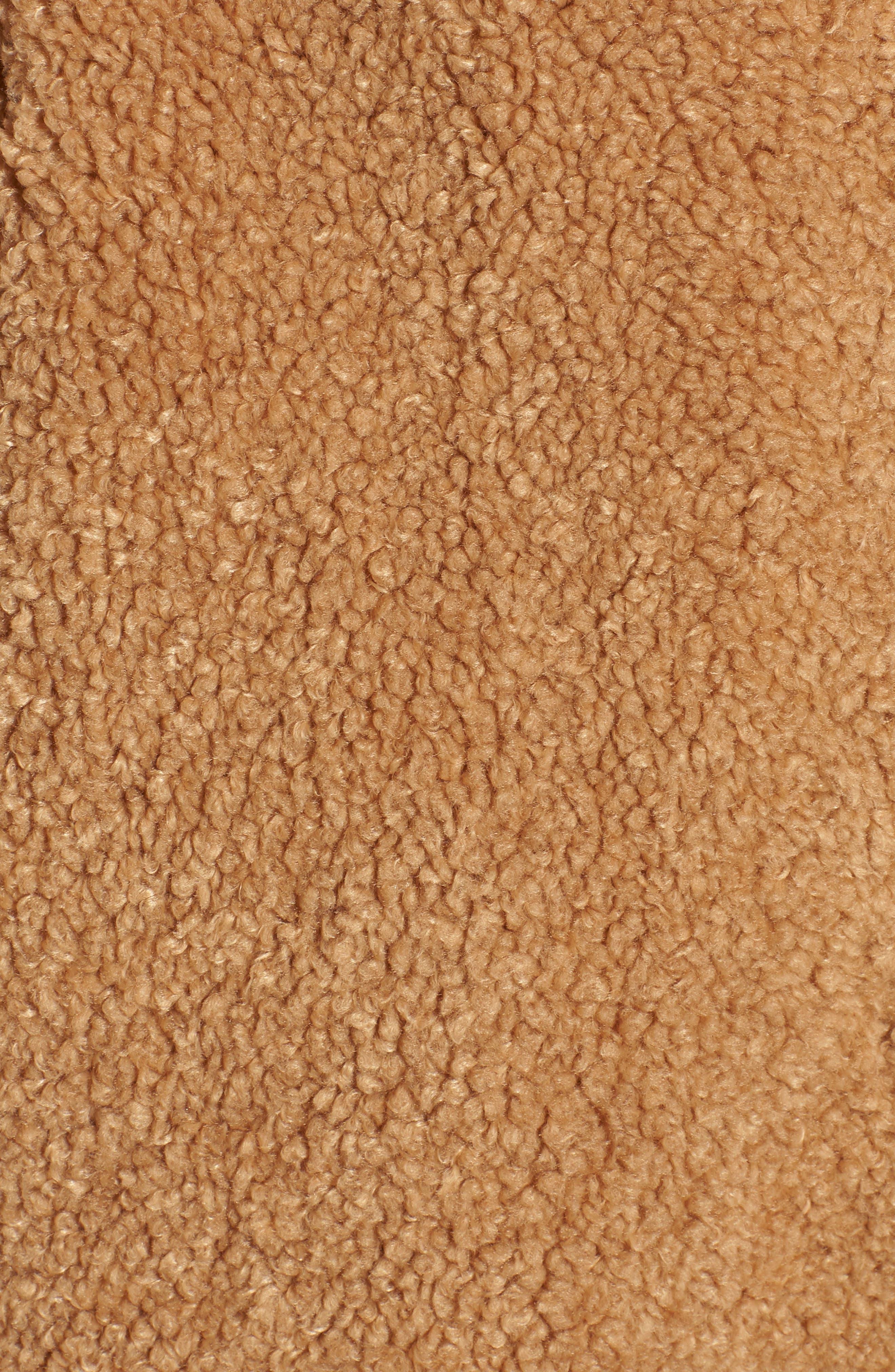 Faux Fur Teddy Bear Coat,                             Alternate thumbnail 6, color,                             256