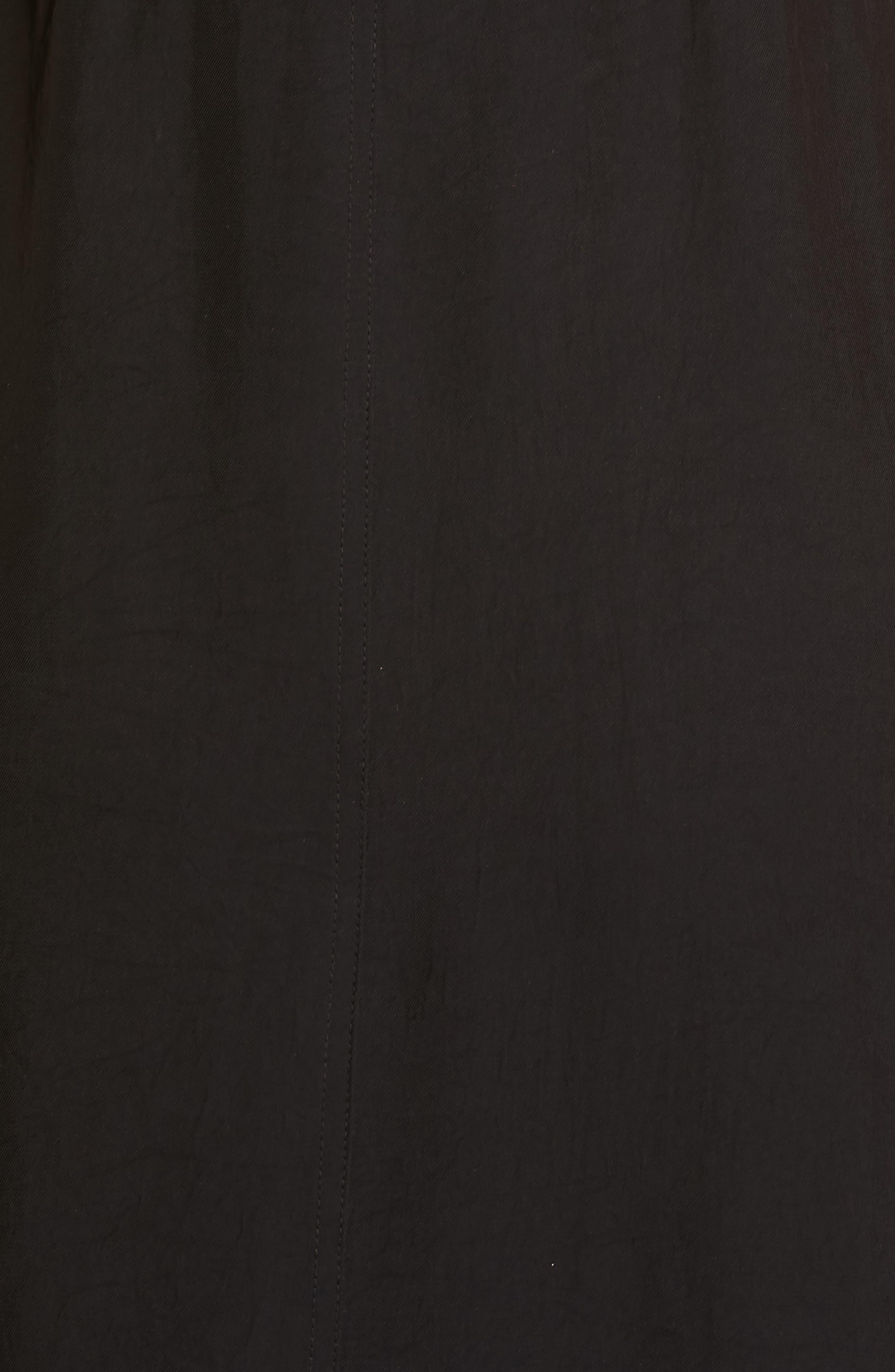 Adrian Pinafore Dress,                             Alternate thumbnail 5, color,                             BLACK