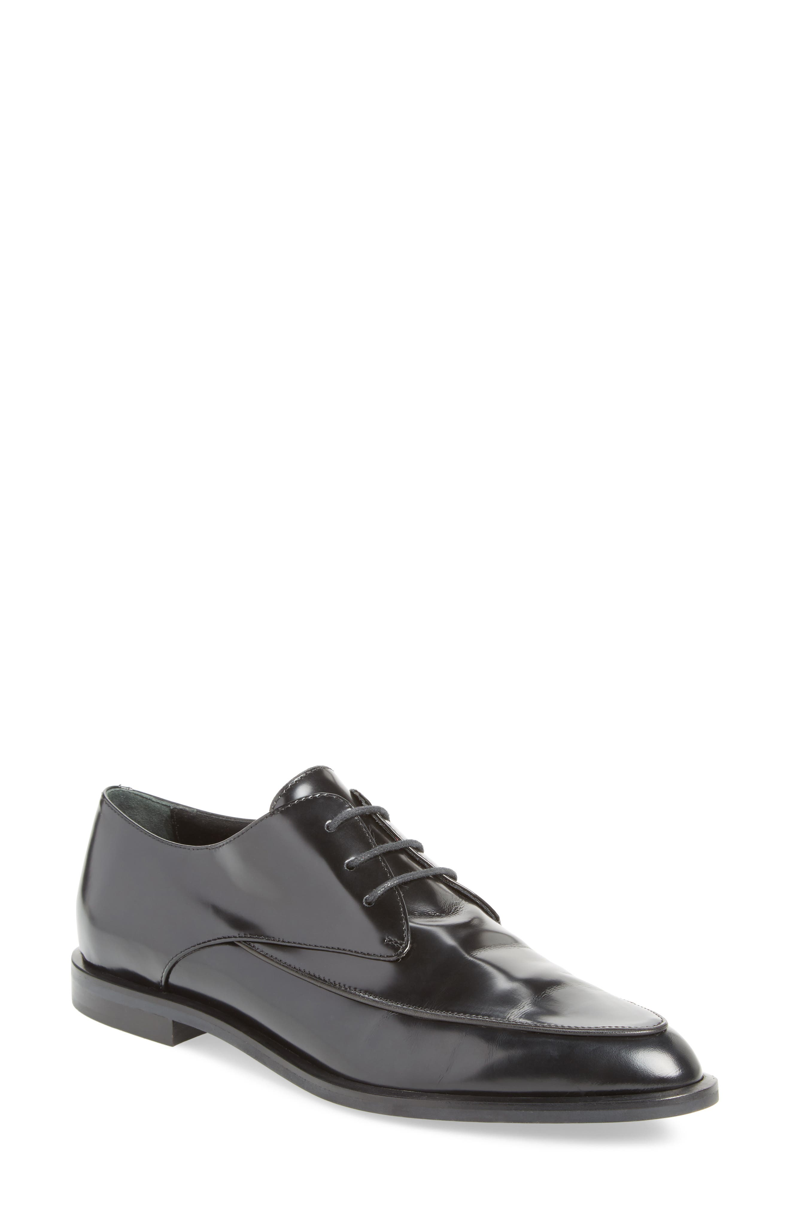 Pointy Toe Oxford,                         Main,                         color, 001