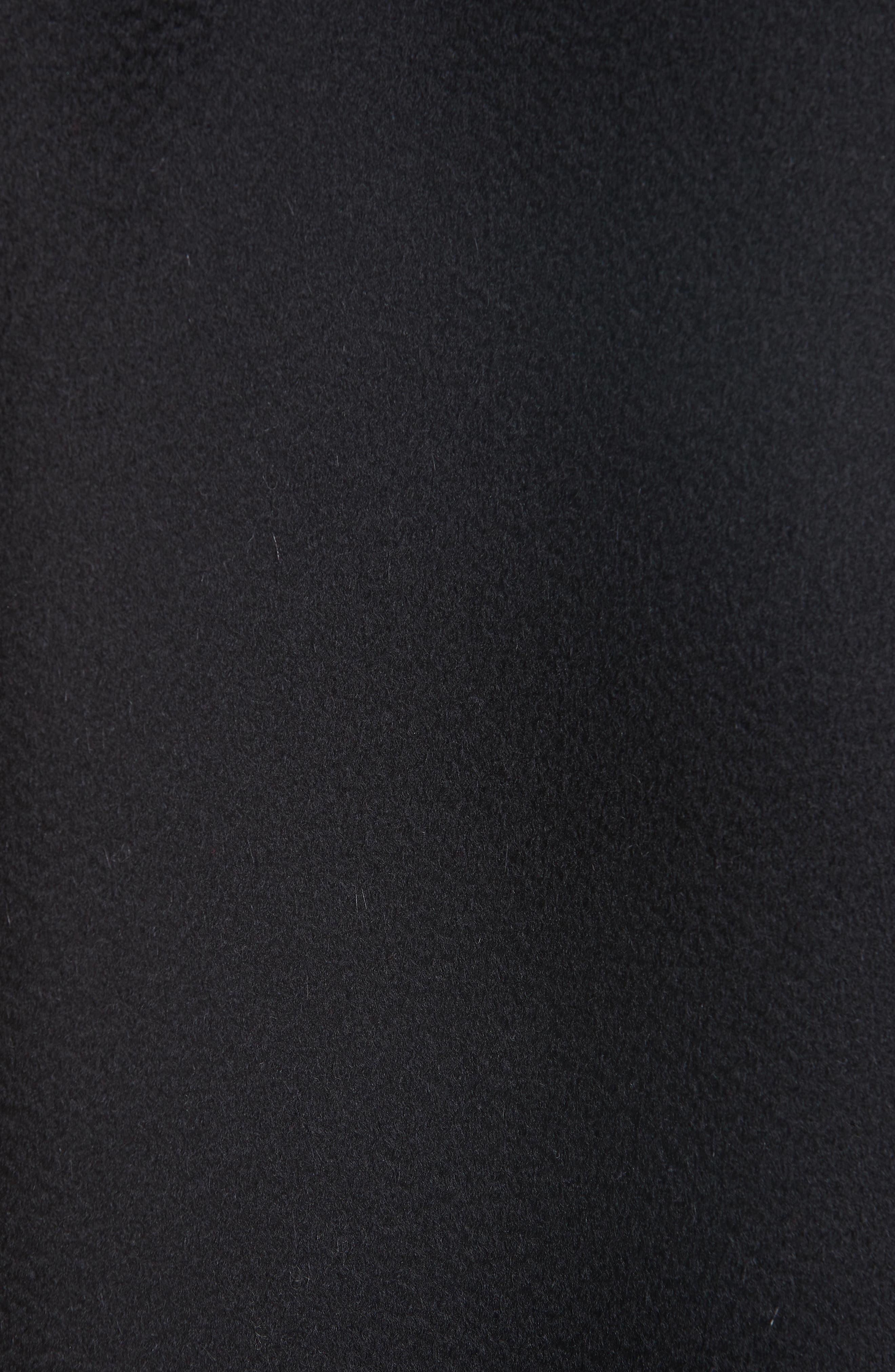 MANSUR GAVRIEL,                             Longline Cashmere Coat,                             Alternate thumbnail 6, color,                             001